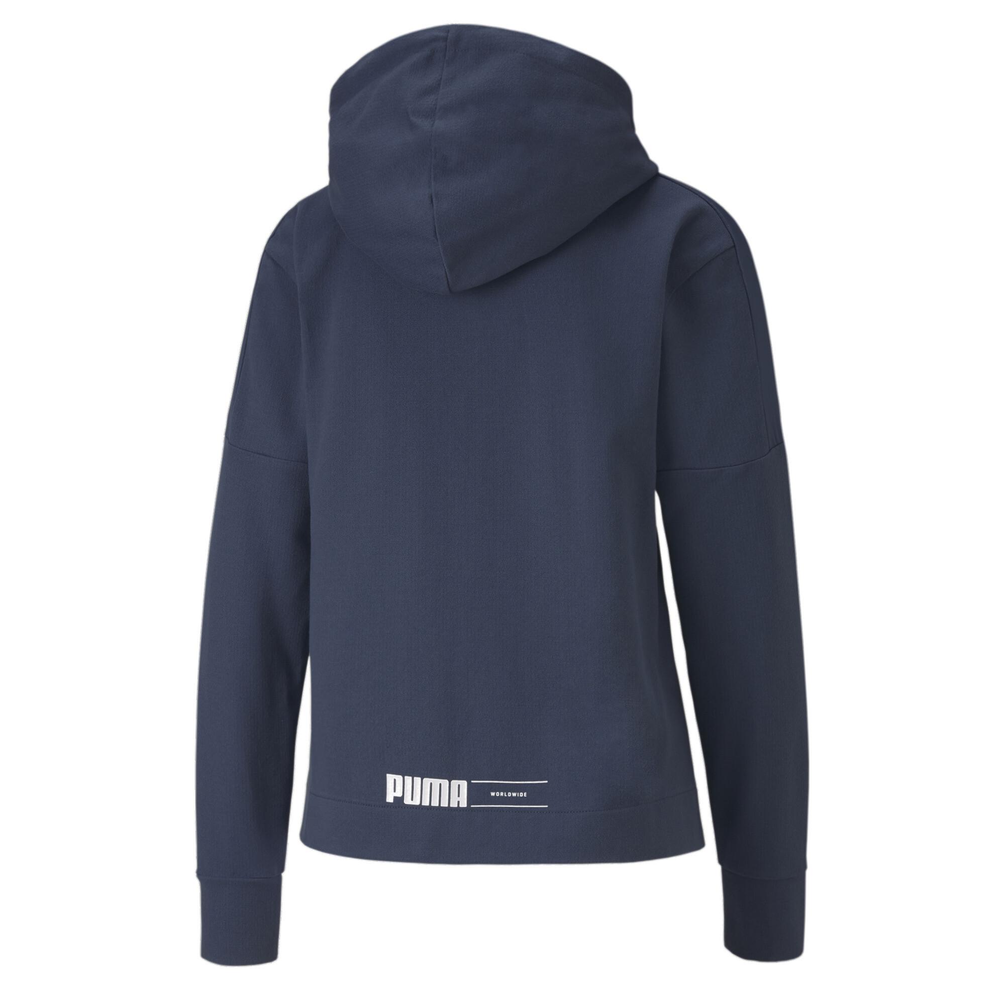 PUMA-NU-TILITY-Women-039-s-Full-Zip-Hoodie-Women-Sweat-Basics miniatuur 3