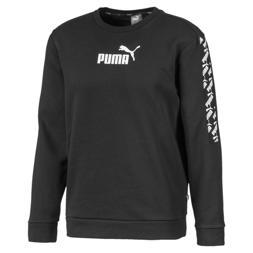 Image PUMA Moletom AMPLIFIED Crew FL Masculino #1