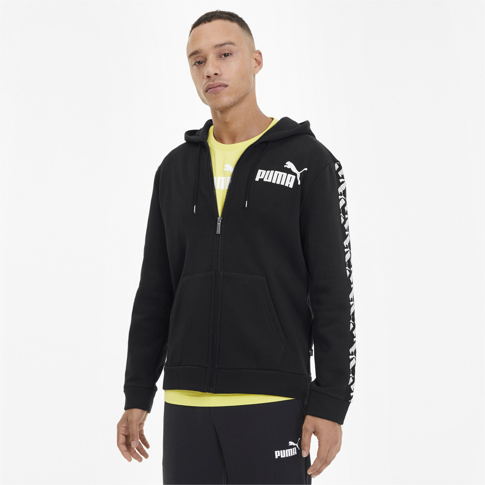 Image PUMA Amplified Fleece Full Zip Men's Hoodie #1