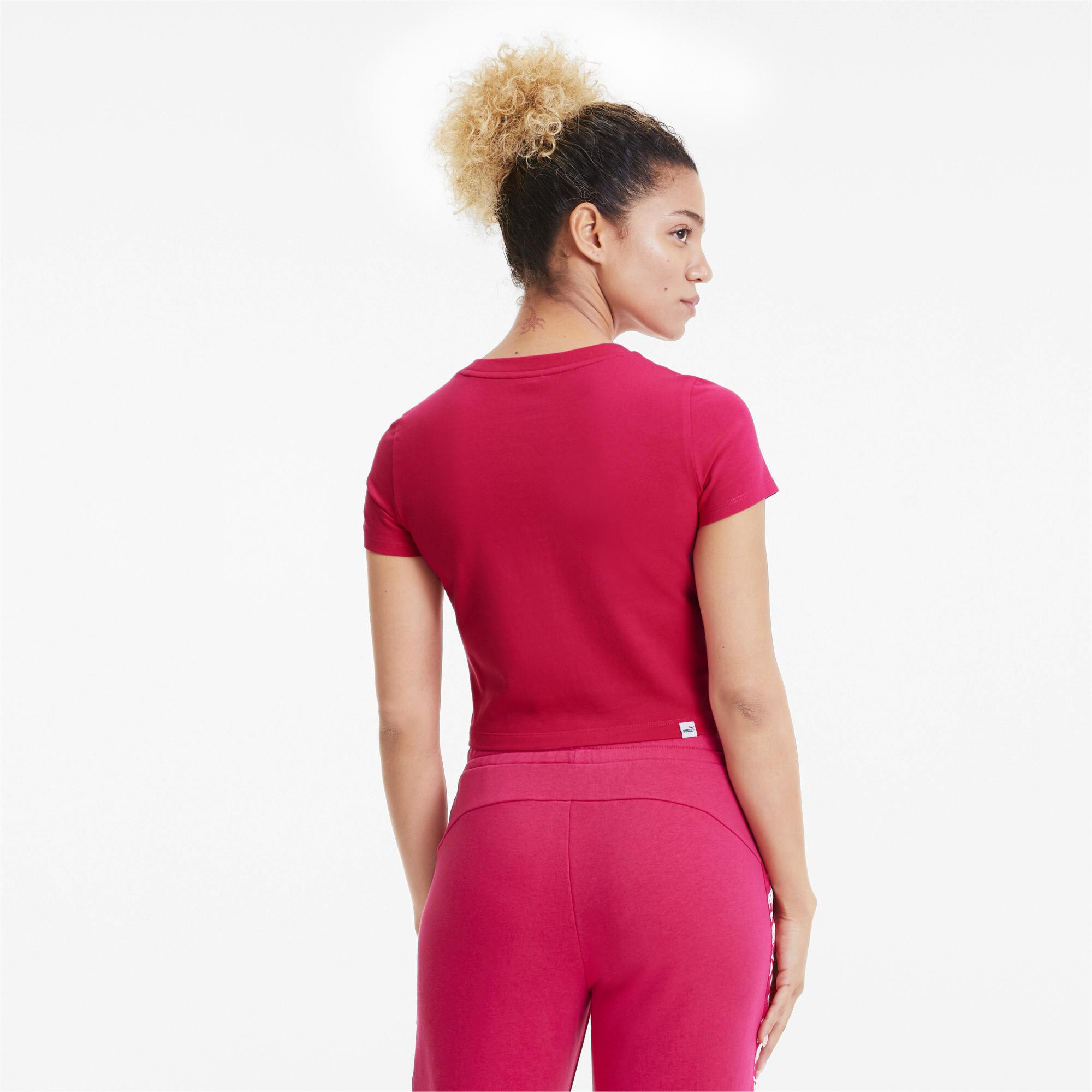 PUMA-Essentials-Women-039-s-Fitted-Tee-Women-Tee-Basics thumbnail 13