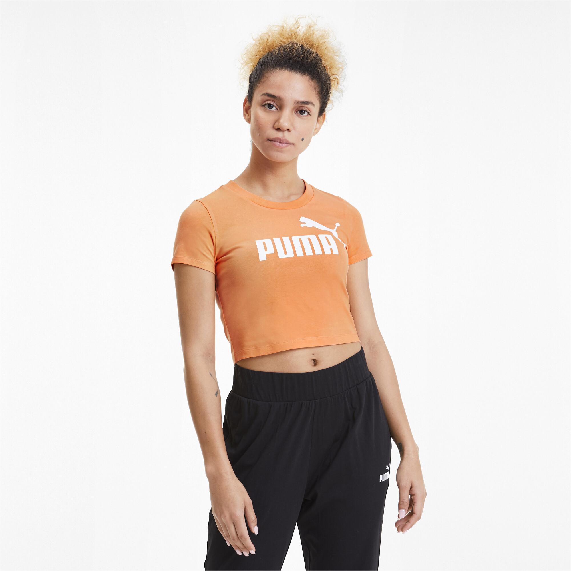 PUMA-Essentials-Women-039-s-Fitted-Tee-Women-Tee-Basics thumbnail 4