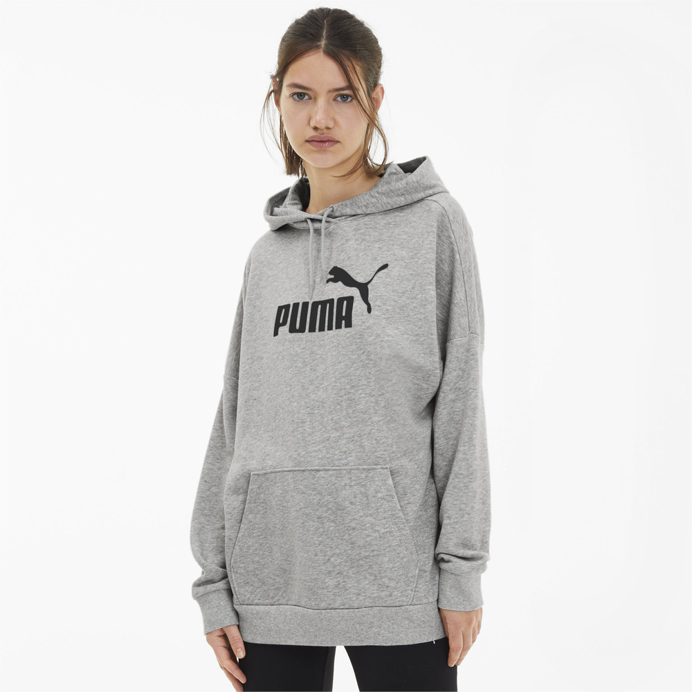Image PUMA Essentials+ Elongated Women's Hoodie #2