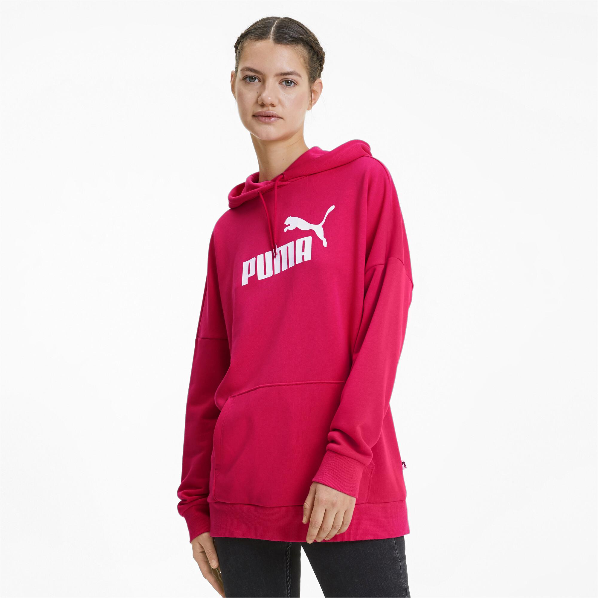 PUMA-Women-039-s-Essentials-Elongated-Hoodie thumbnail 22