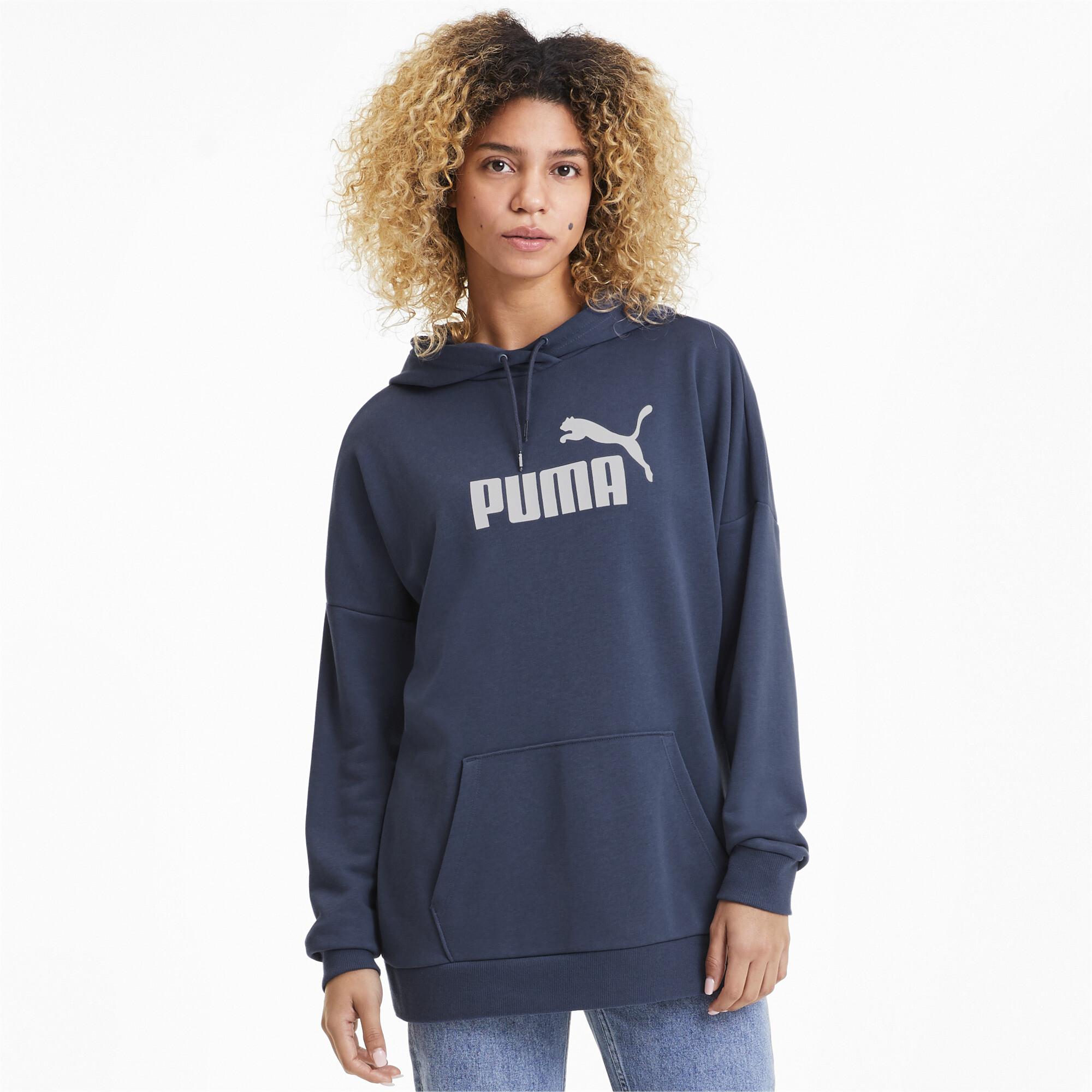 PUMA-Women-039-s-Essentials-Elongated-Hoodie thumbnail 19