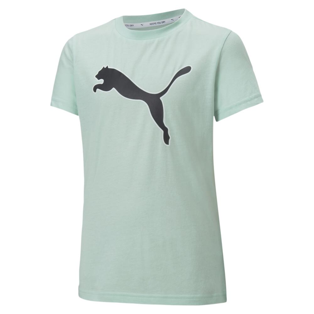 Image PUMA Modern Sports Logo Girls' Tee #1