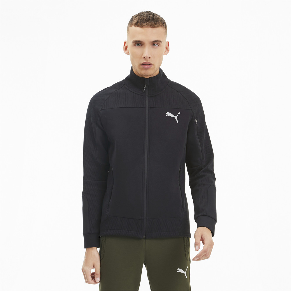 Image Puma Evostripe Men's Full Zip Jacket #1