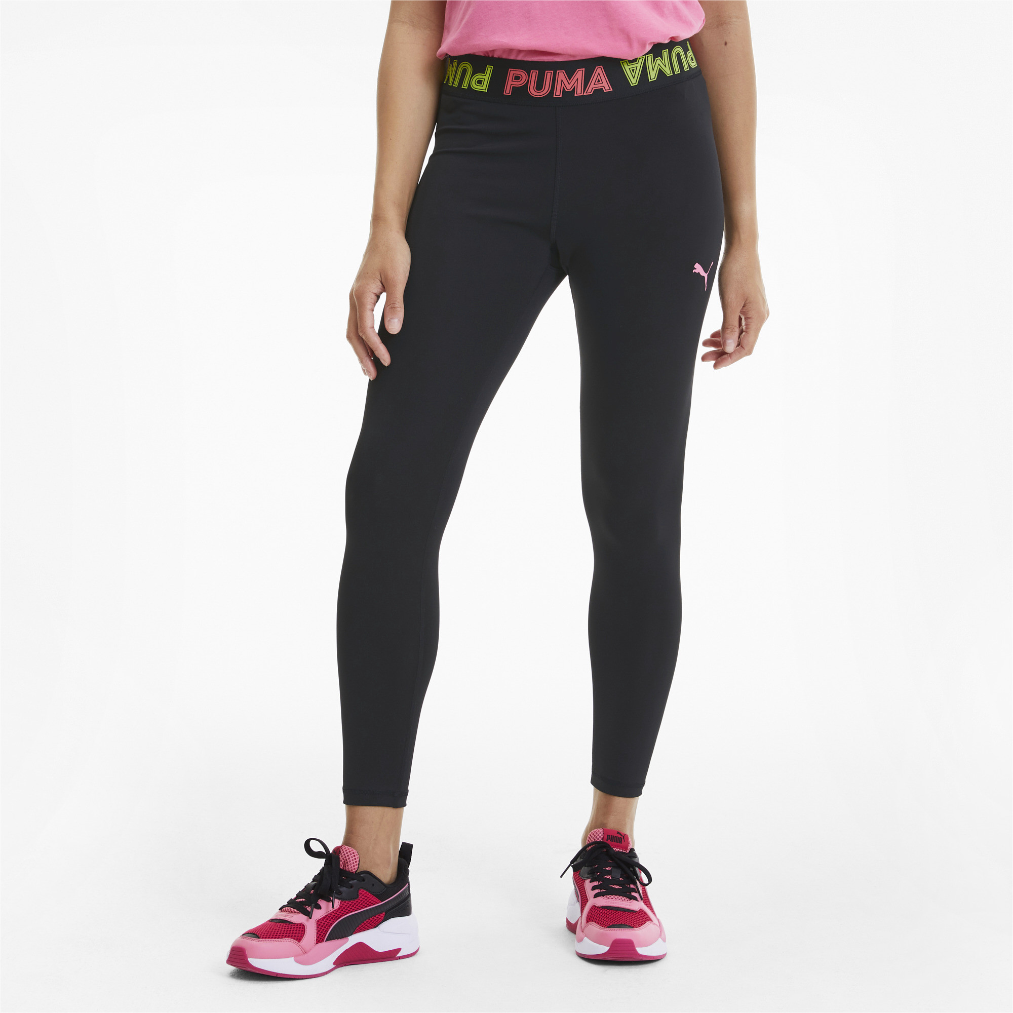 PUMA-Modern-Sports-Women-039-s-Band-Leggings-Women-Basics thumbnail 4
