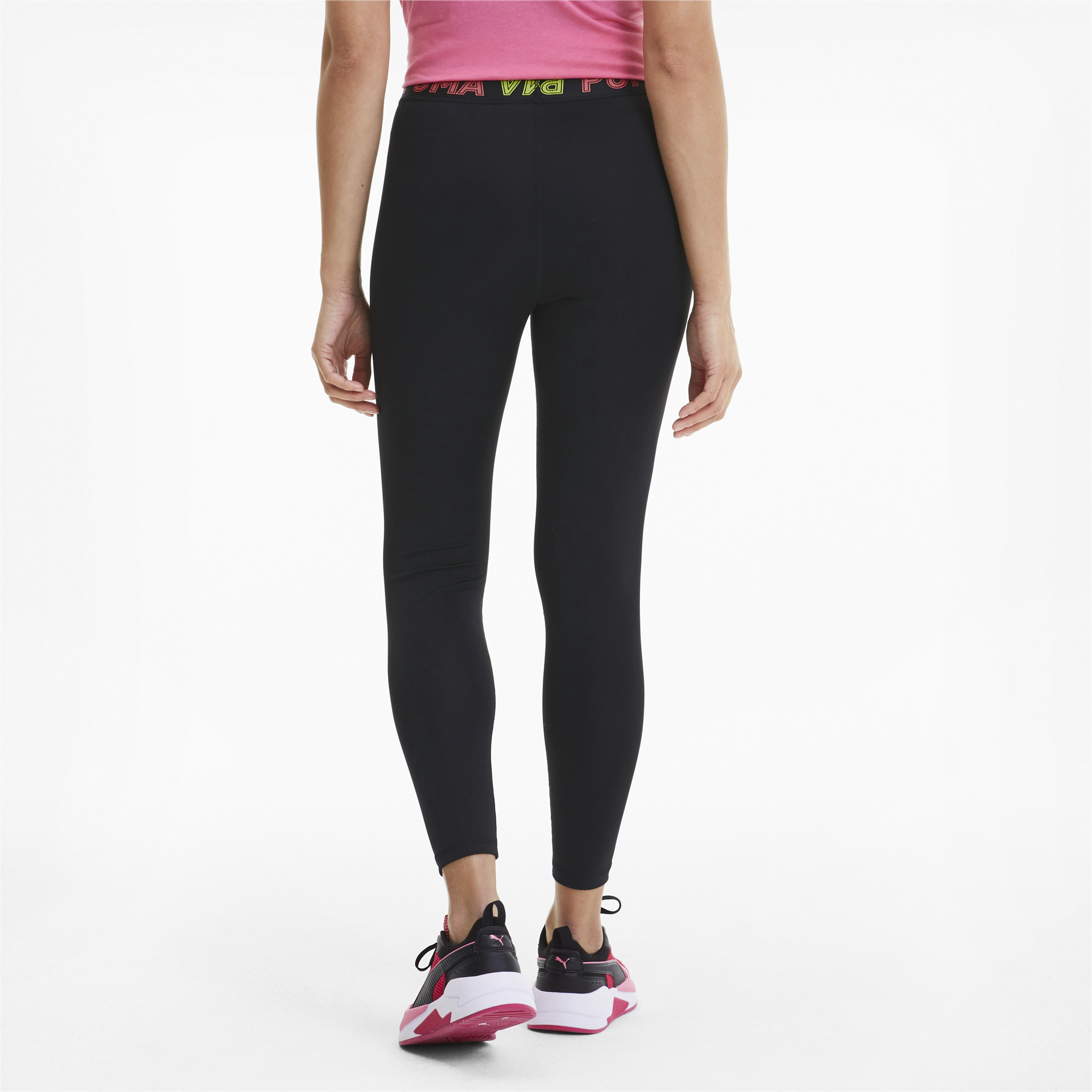 PUMA-Modern-Sports-Women-039-s-Band-Leggings-Women-Basics thumbnail 5