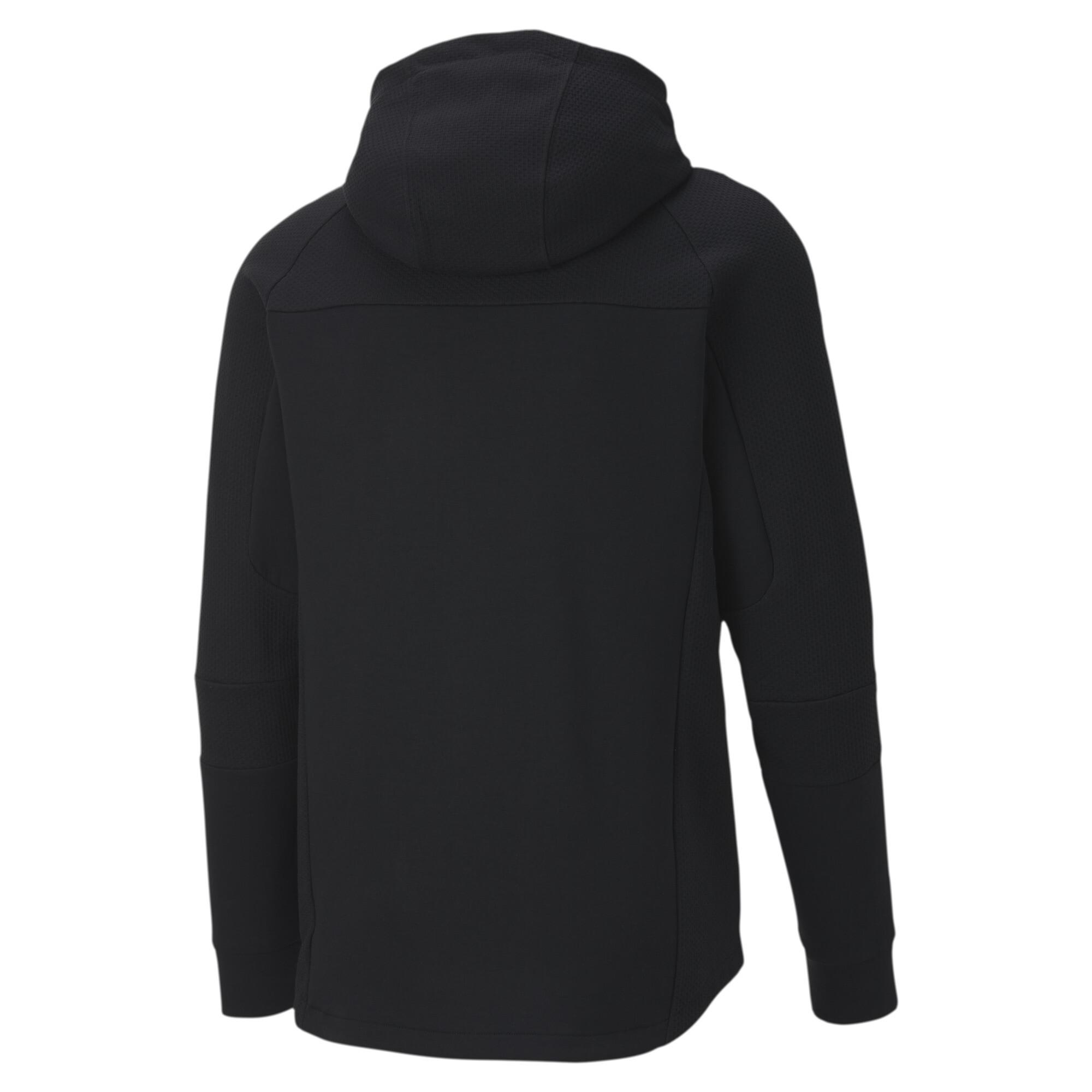 PUMA-Evostripe-Men-039-s-Hooded-Jacket-Men-Sweat-Basics thumbnail 13