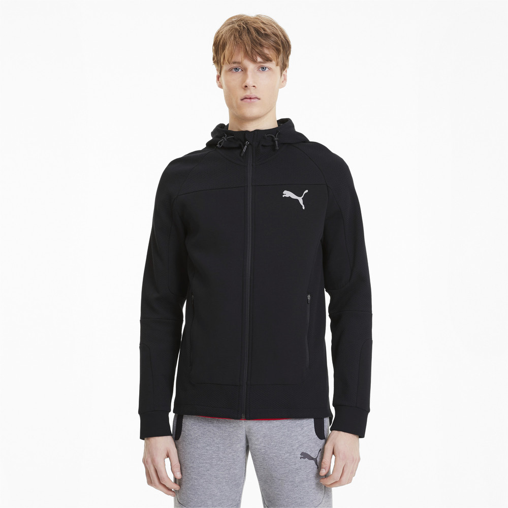Image Puma Evostripe Hooded Men's Jacket #1