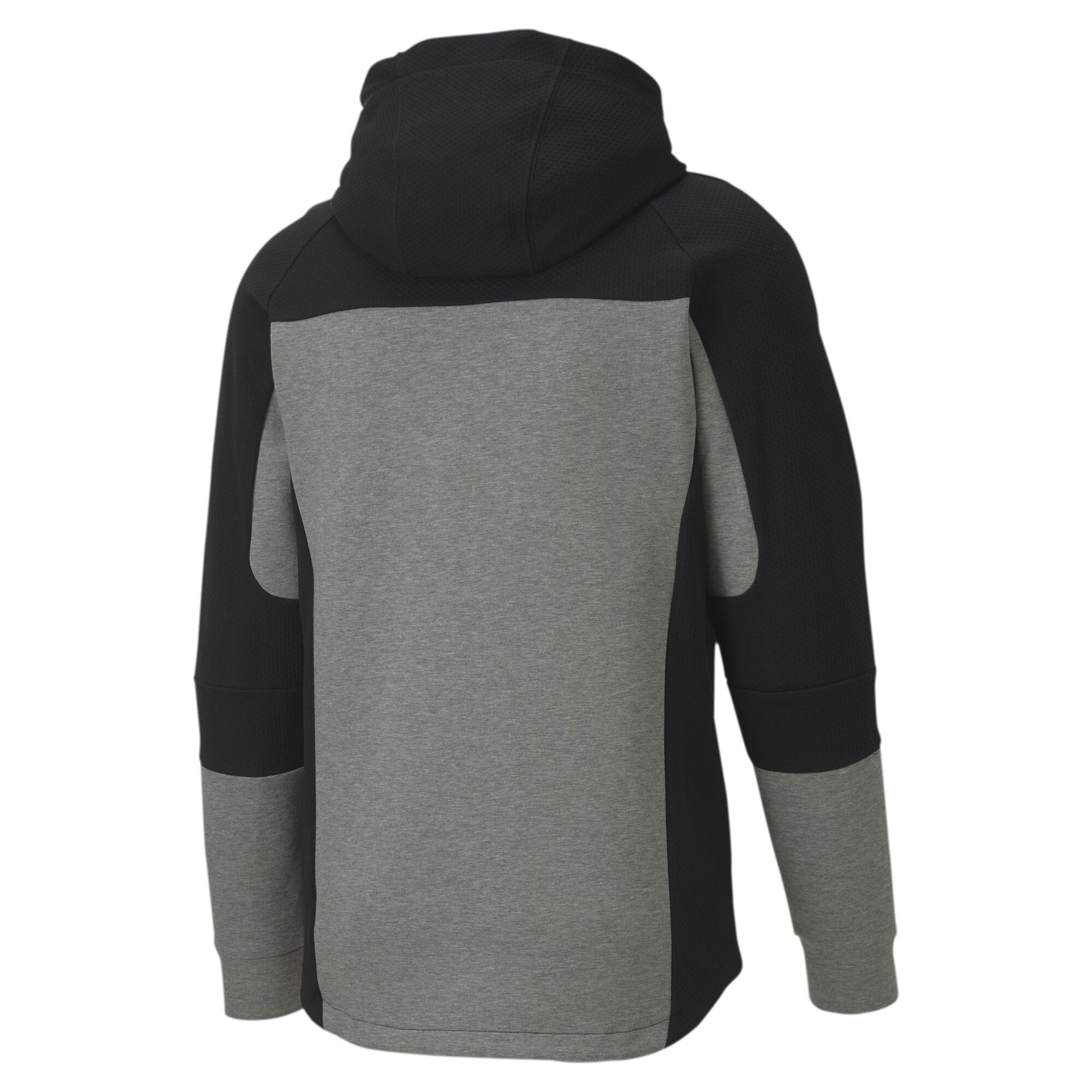 PUMA-Evostripe-Men-039-s-Hooded-Jacket-Men-Sweat-Basics thumbnail 18