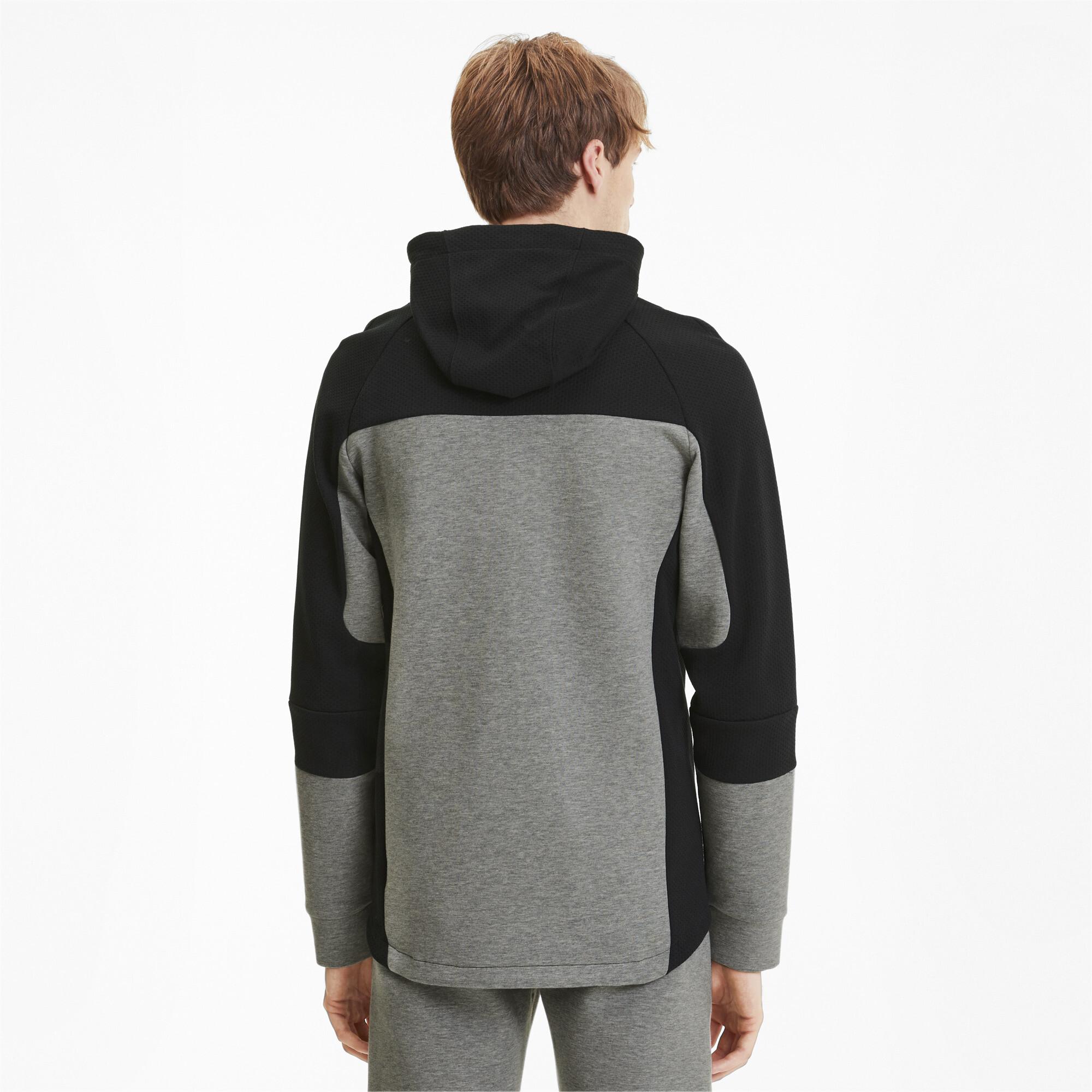 PUMA-Evostripe-Men-039-s-Hooded-Jacket-Men-Sweat-Basics thumbnail 20