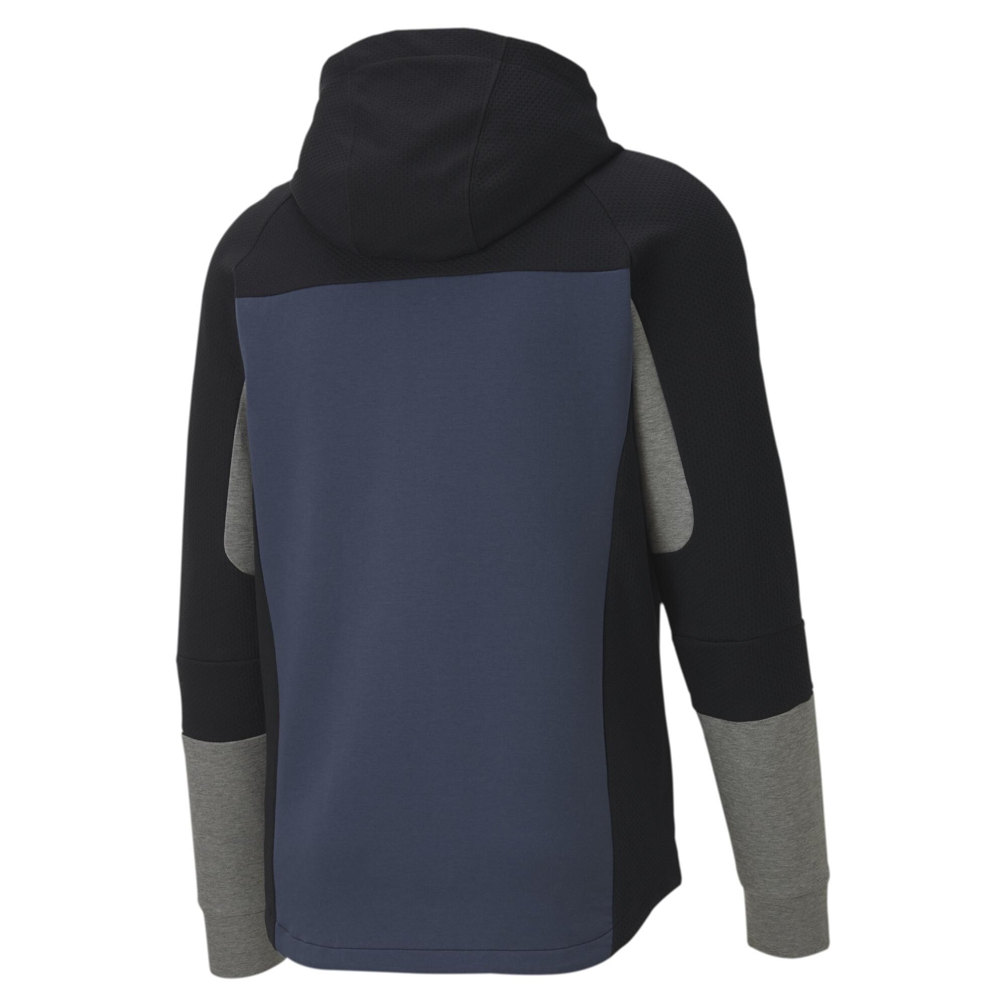 PUMA-Evostripe-Men-039-s-Hooded-Jacket-Men-Sweat-Basics thumbnail 3