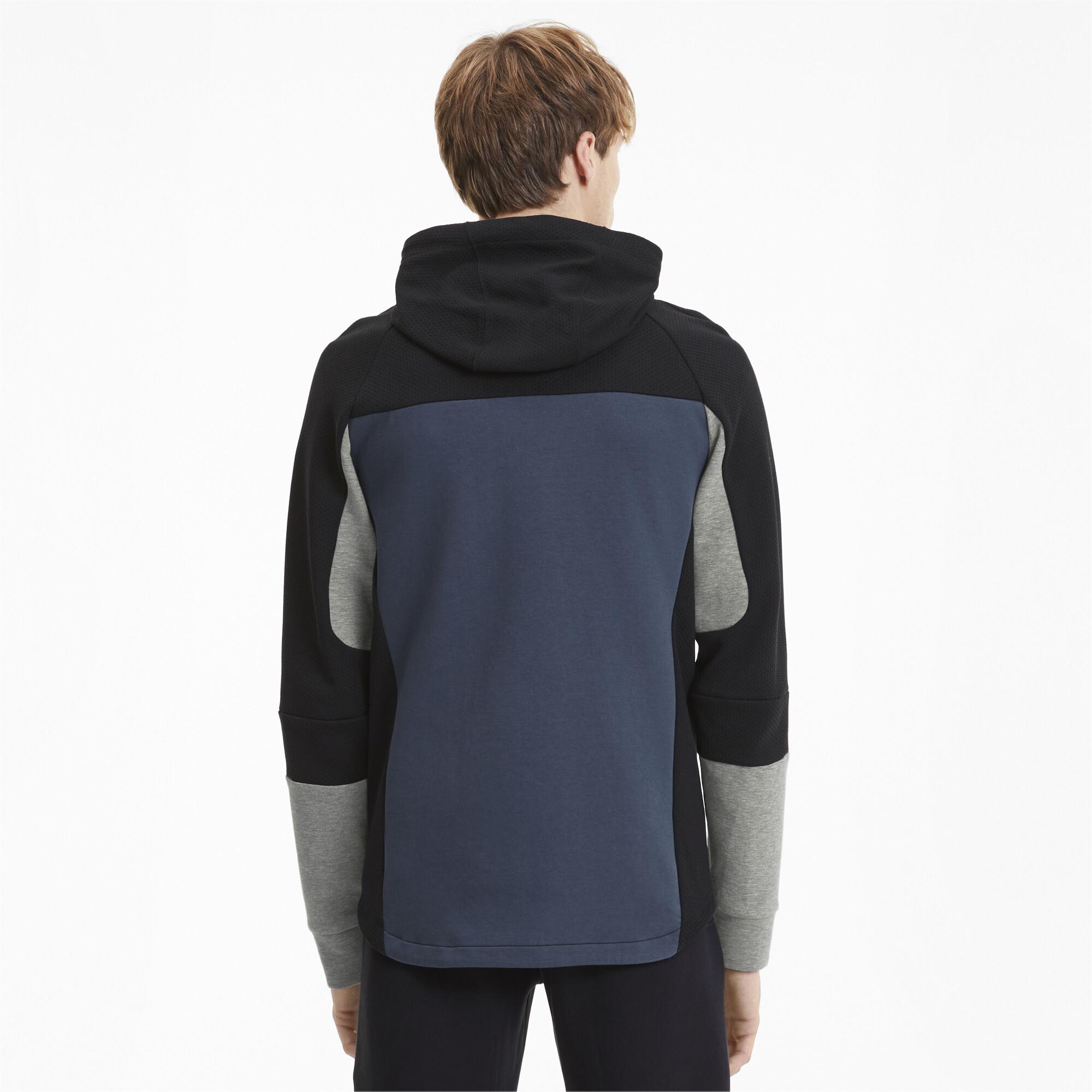 PUMA-Evostripe-Men-039-s-Hooded-Jacket-Men-Sweat-Basics thumbnail 5