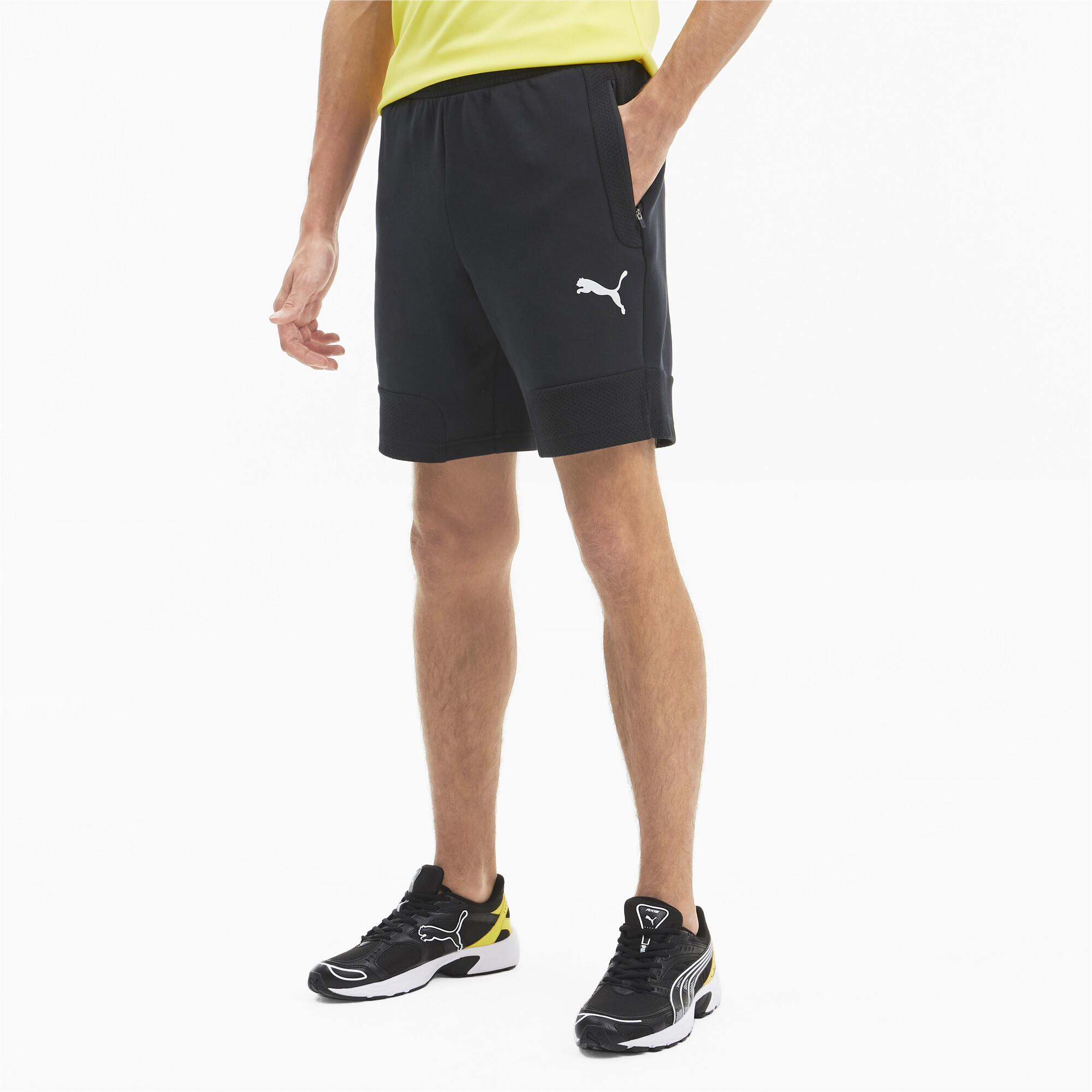 PUMA-Evostripe-Men-039-s-Shorts-Men-Knitted-Shorts-Basics thumbnail 4