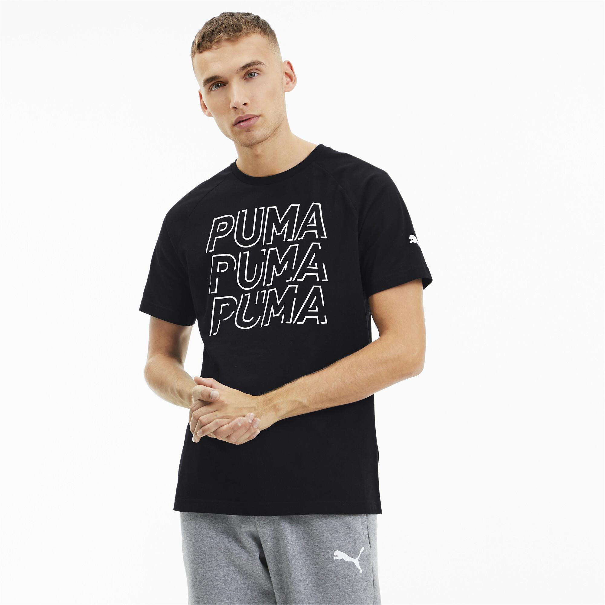 PUMA-Modern-Sports-Men-039-s-Logo-Tee-Men-Tee-Basics thumbnail 10