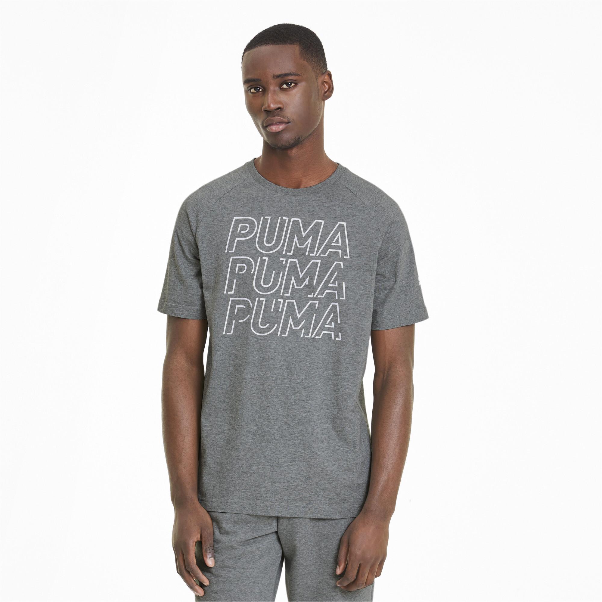 PUMA-Modern-Sports-Men-039-s-Logo-Tee-Men-Tee-Basics thumbnail 16