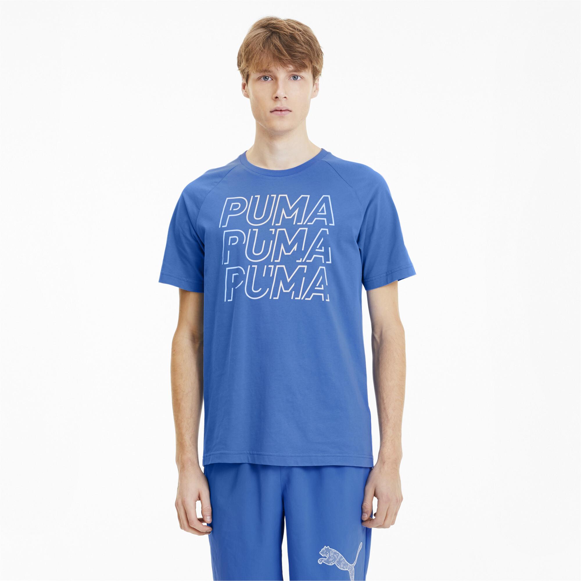 PUMA-Modern-Sports-Men-039-s-Logo-Tee-Men-Tee-Basics thumbnail 13