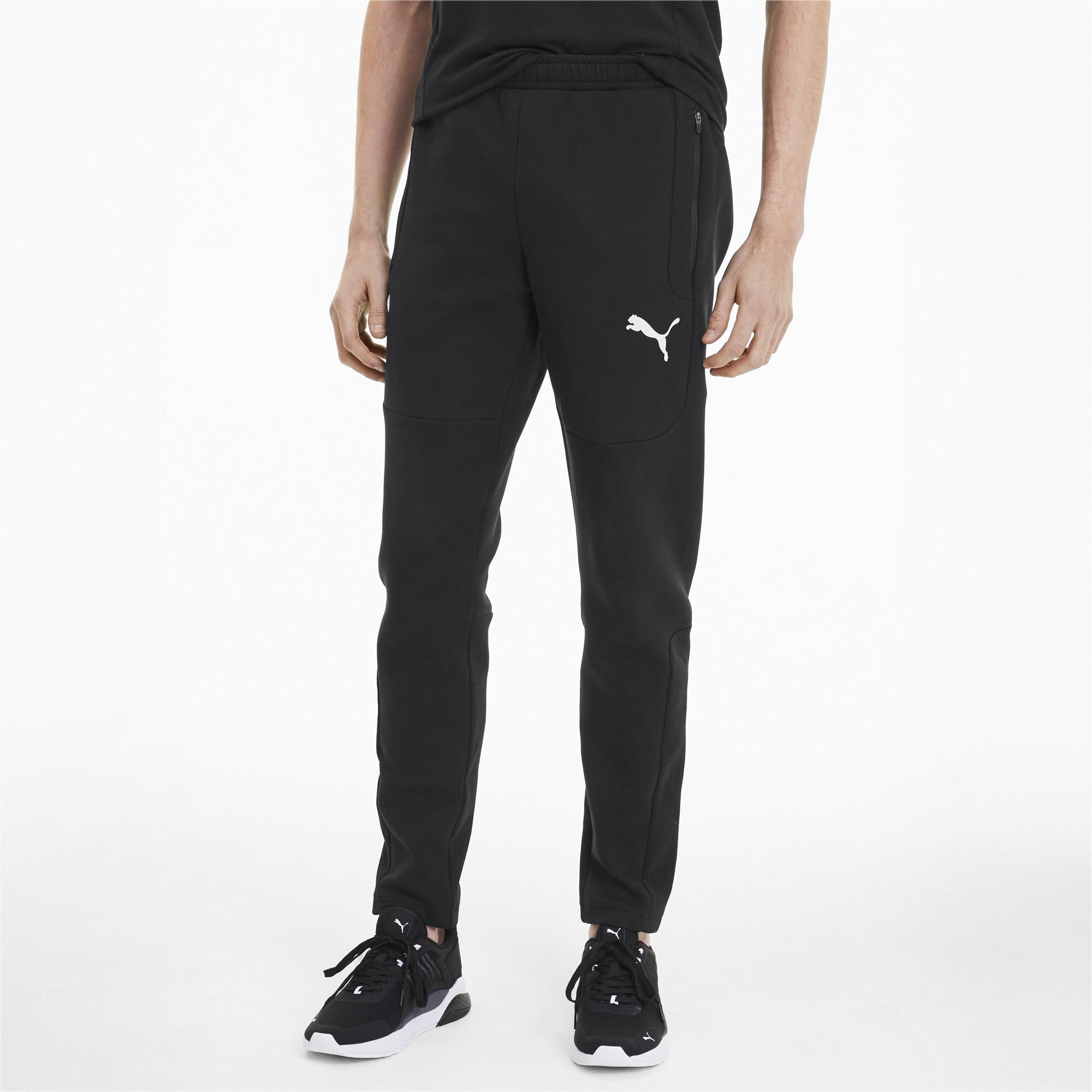 PUMA-Evostripe-Men-039-s-Sweatpants-Men-Knitted-Pants-Basics thumbnail 4
