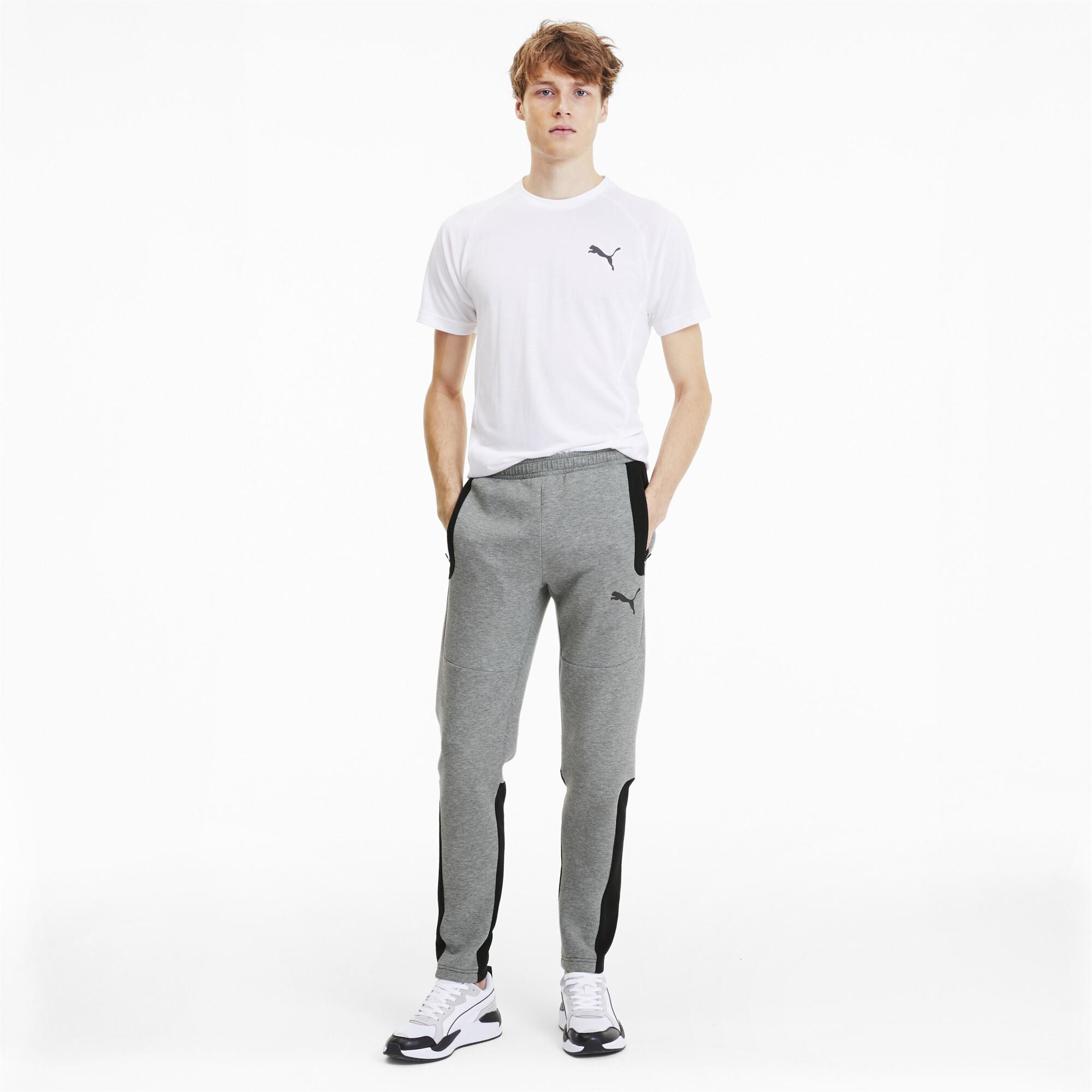 PUMA-Evostripe-Men-039-s-Sweatpants-Men-Knitted-Pants-Basics thumbnail 12