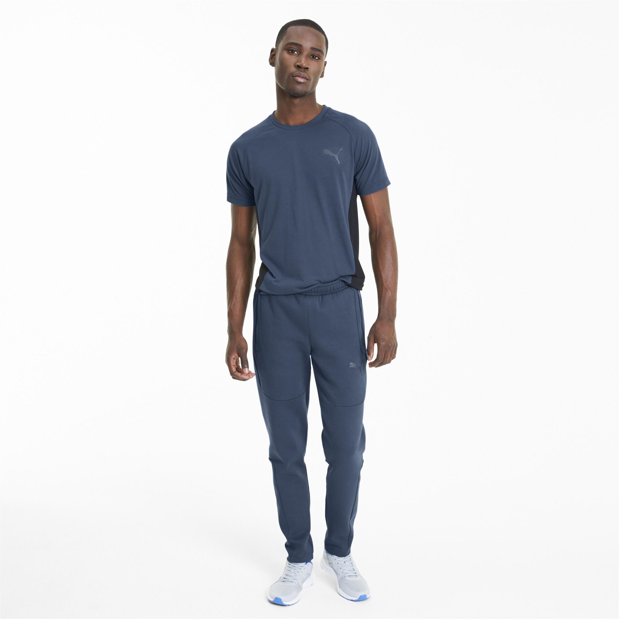 PUMA-Evostripe-Men-039-s-Sweatpants-Men-Knitted-Pants-Basics thumbnail 18