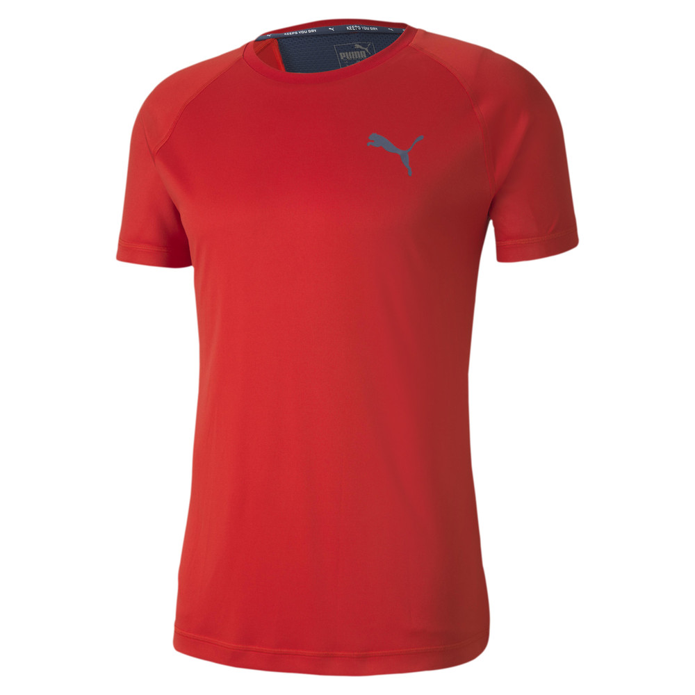 Image PUMA Slim Fit Men's Training Tee #1