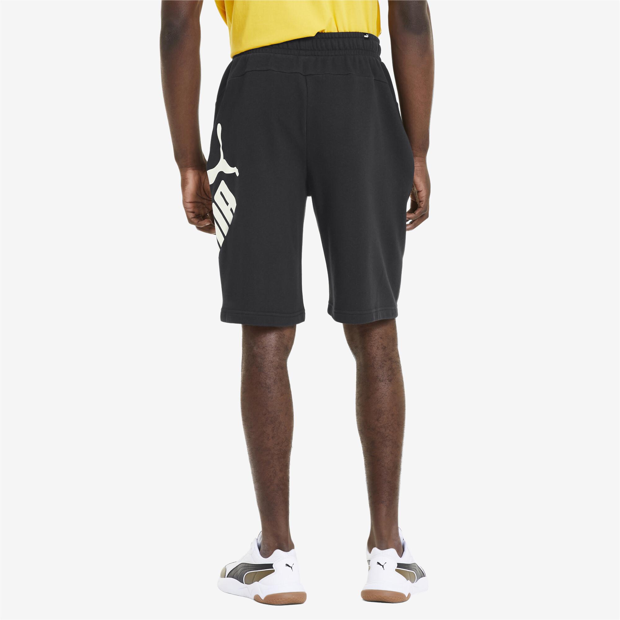 PUMA-Big-Logo-Men-039-s-Shorts-Men-Knitted-Shorts-Basics thumbnail 5