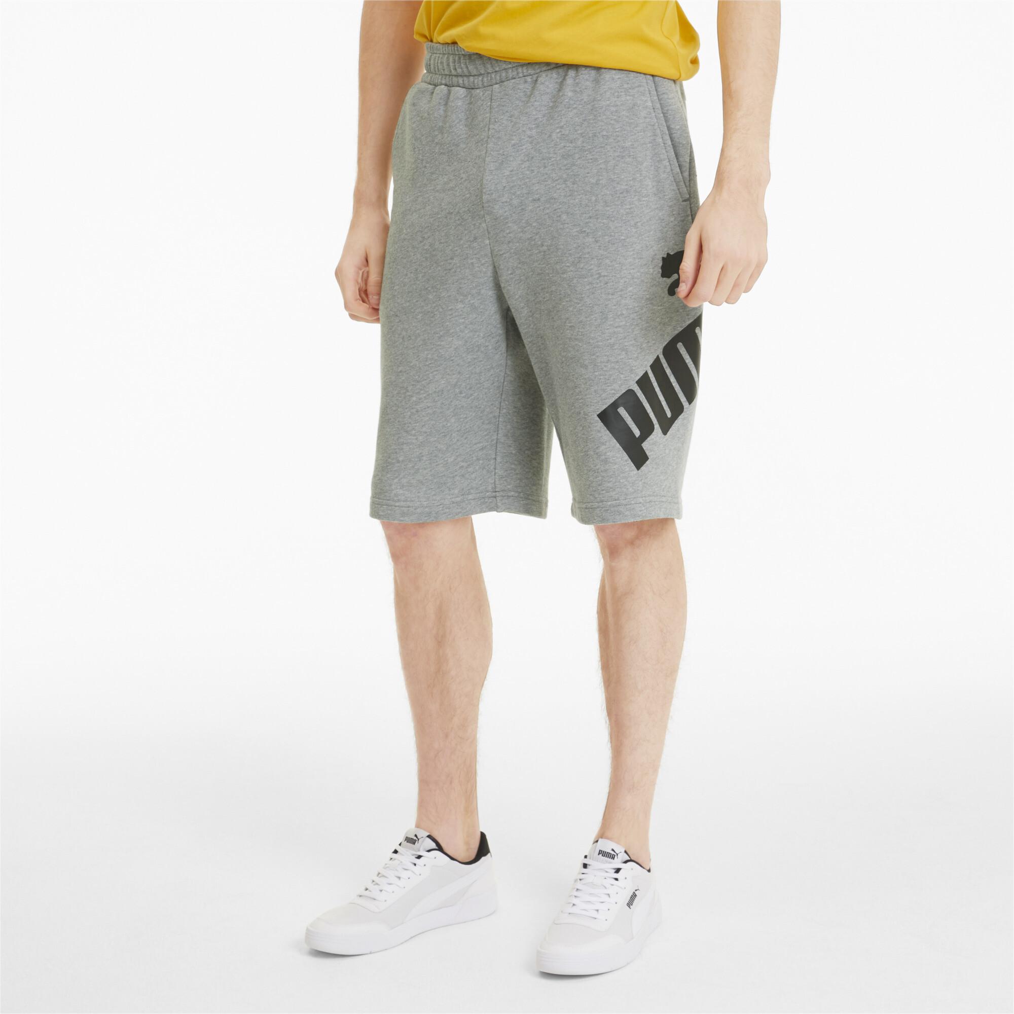 PUMA-Big-Logo-Men-039-s-Shorts-Men-Knitted-Shorts-Basics thumbnail 9