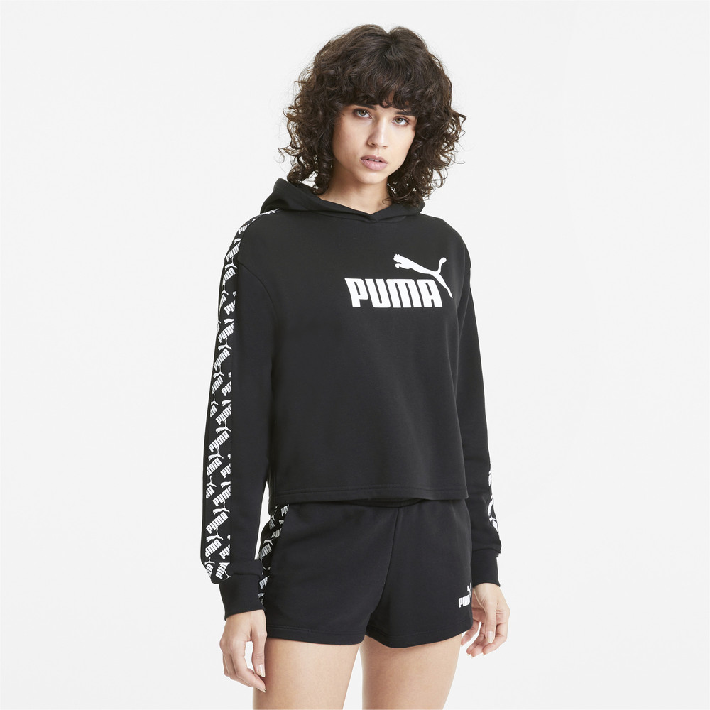 Image PUMA Cropped Women's Training Hoodie #2