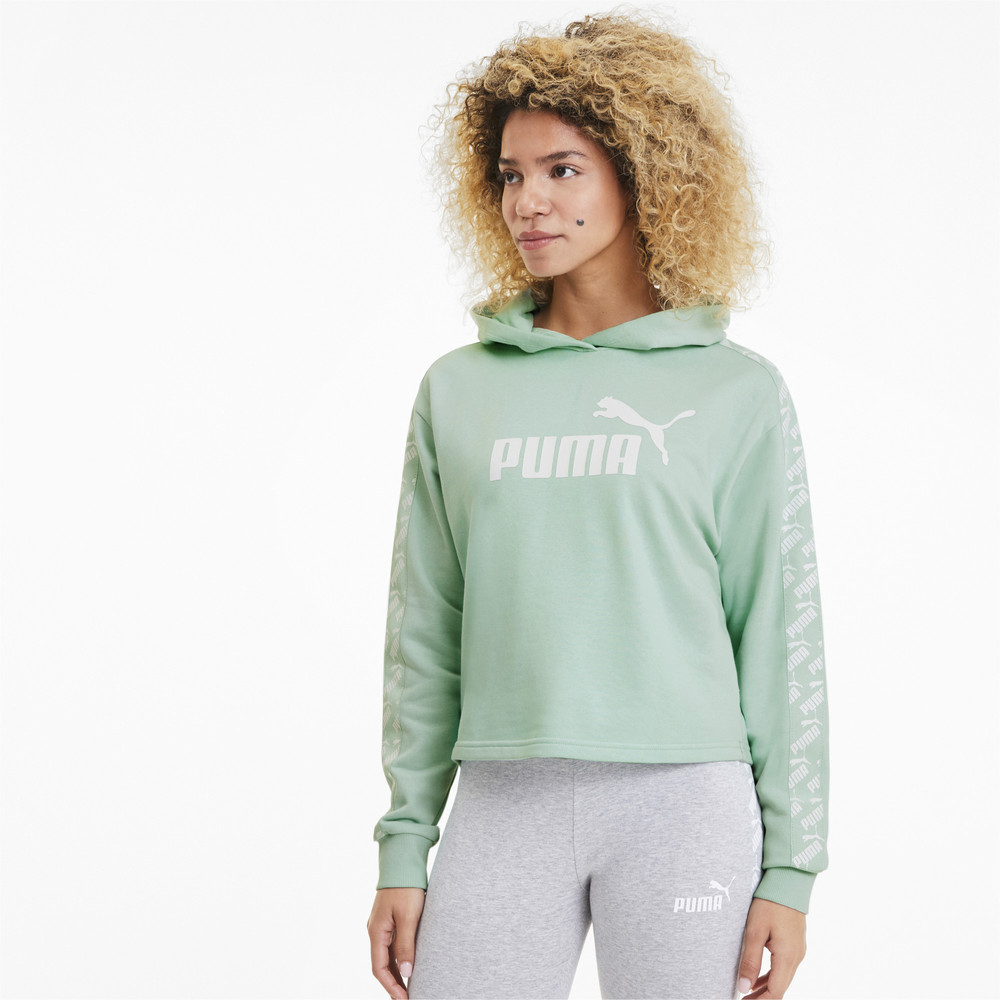 Изображение Puma Толстовка Amplified Cropped Hoody TR #1