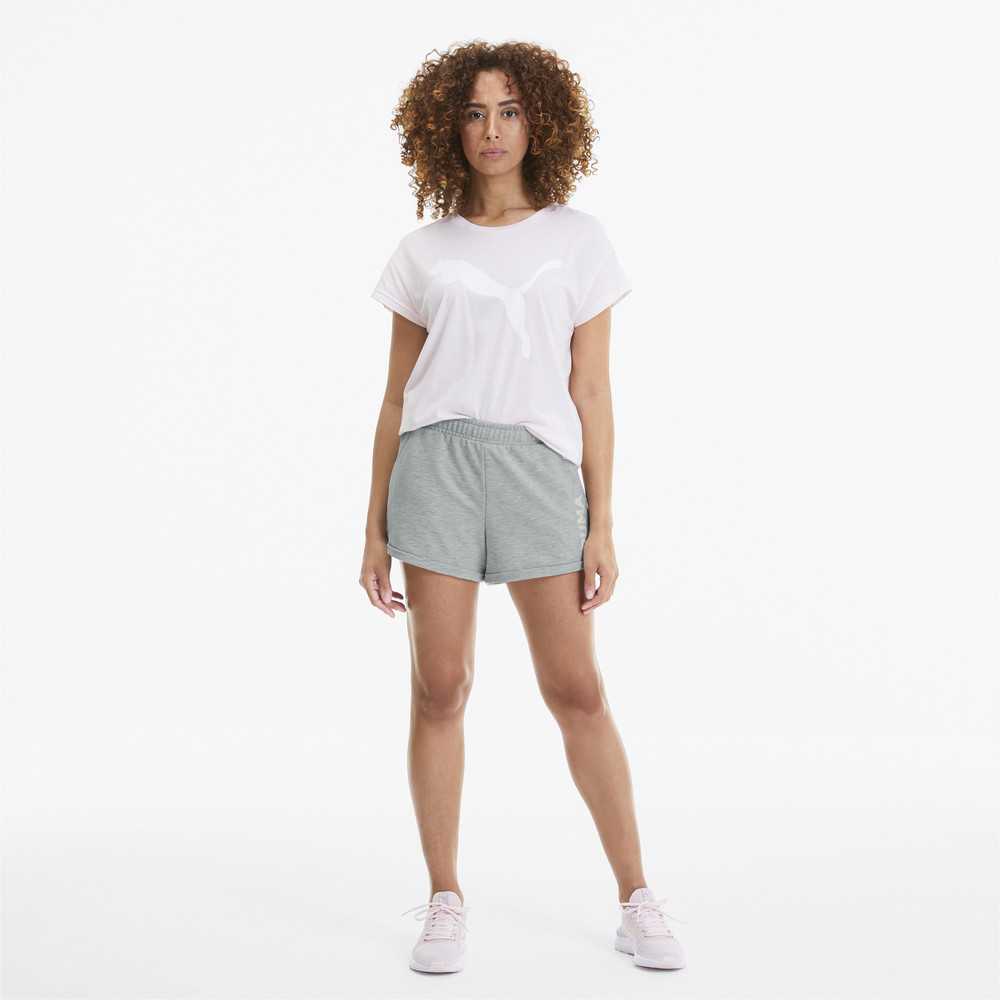"PUMA - female - Шорты Modern Sports 3"" Shorts – Light Gray Heather –, Серый"
