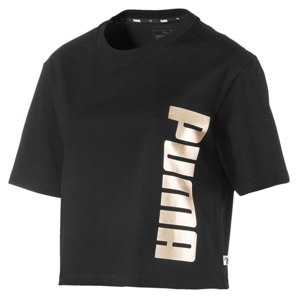 Image Puma Holiday Pack Graphic Short Sleeve Women's Tee #1
