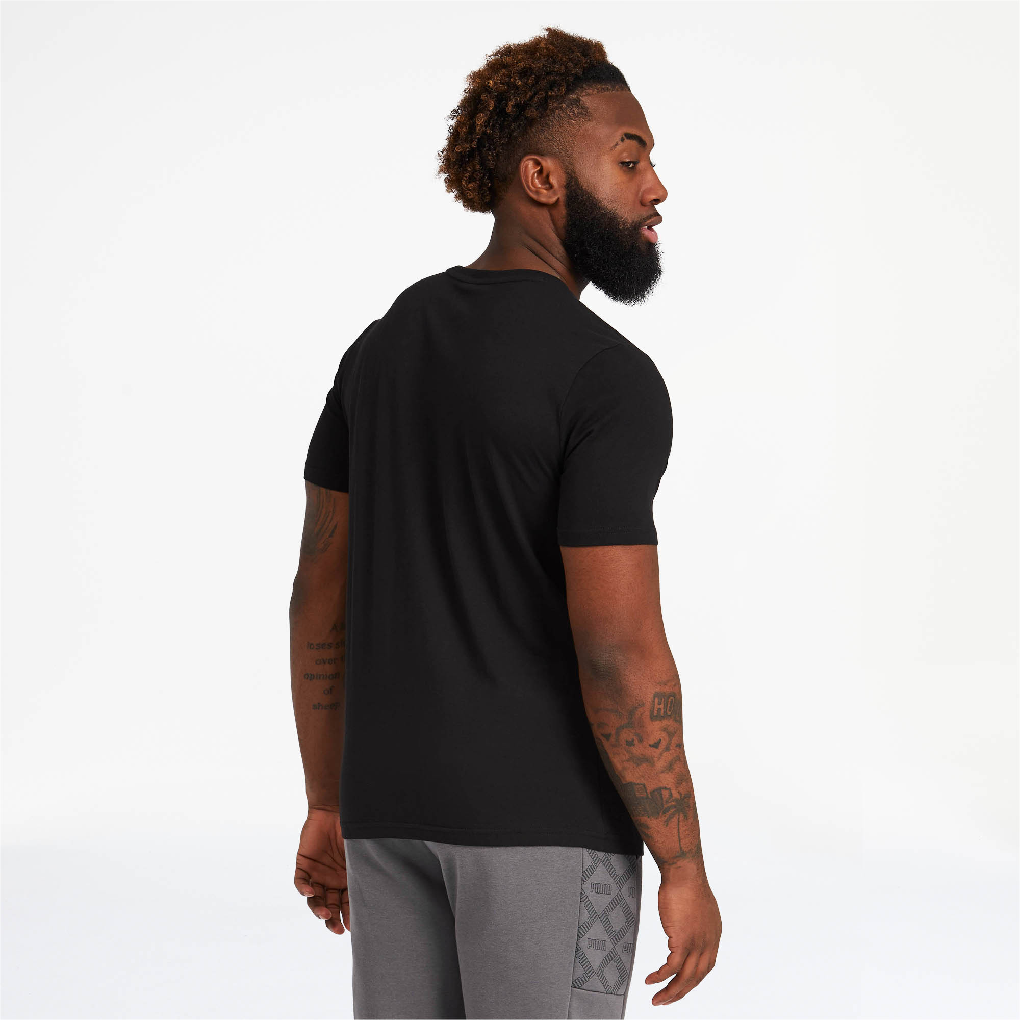 PUMA-Logo-AOP-Pack-Men-039-s-Graphic-Tee-Men-Tee-Basics thumbnail 5