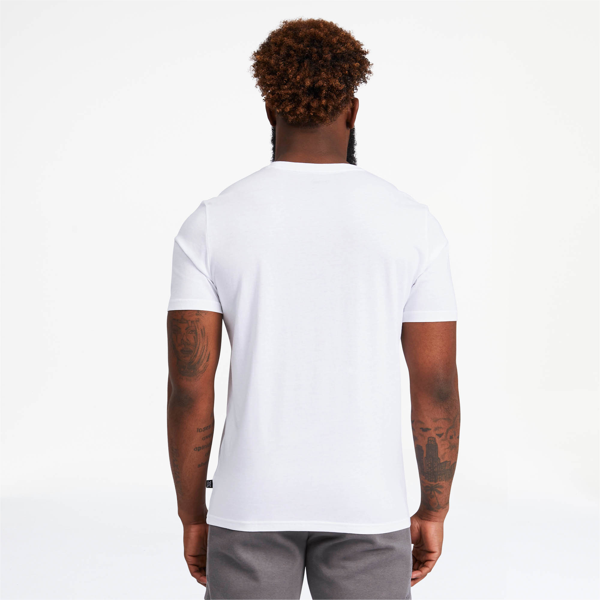 PUMA-Logo-AOP-Pack-Men-039-s-Graphic-Tee-Men-Tee-Basics thumbnail 10
