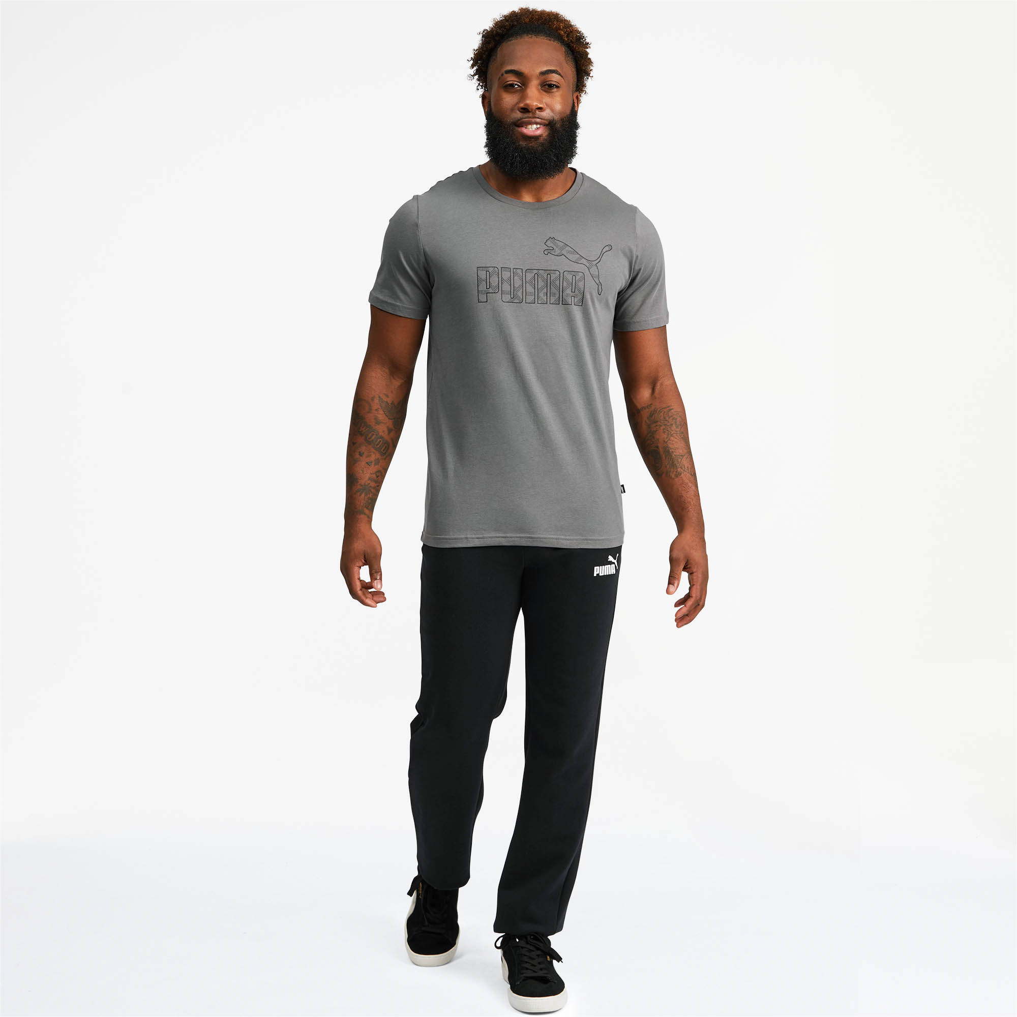 PUMA-Logo-AOP-Pack-Men-039-s-Graphic-Tee-Men-Tee-Basics thumbnail 16