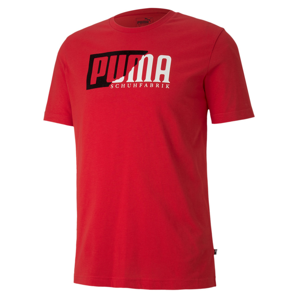 Image PUMA Flock Graphic Men's Tee #1