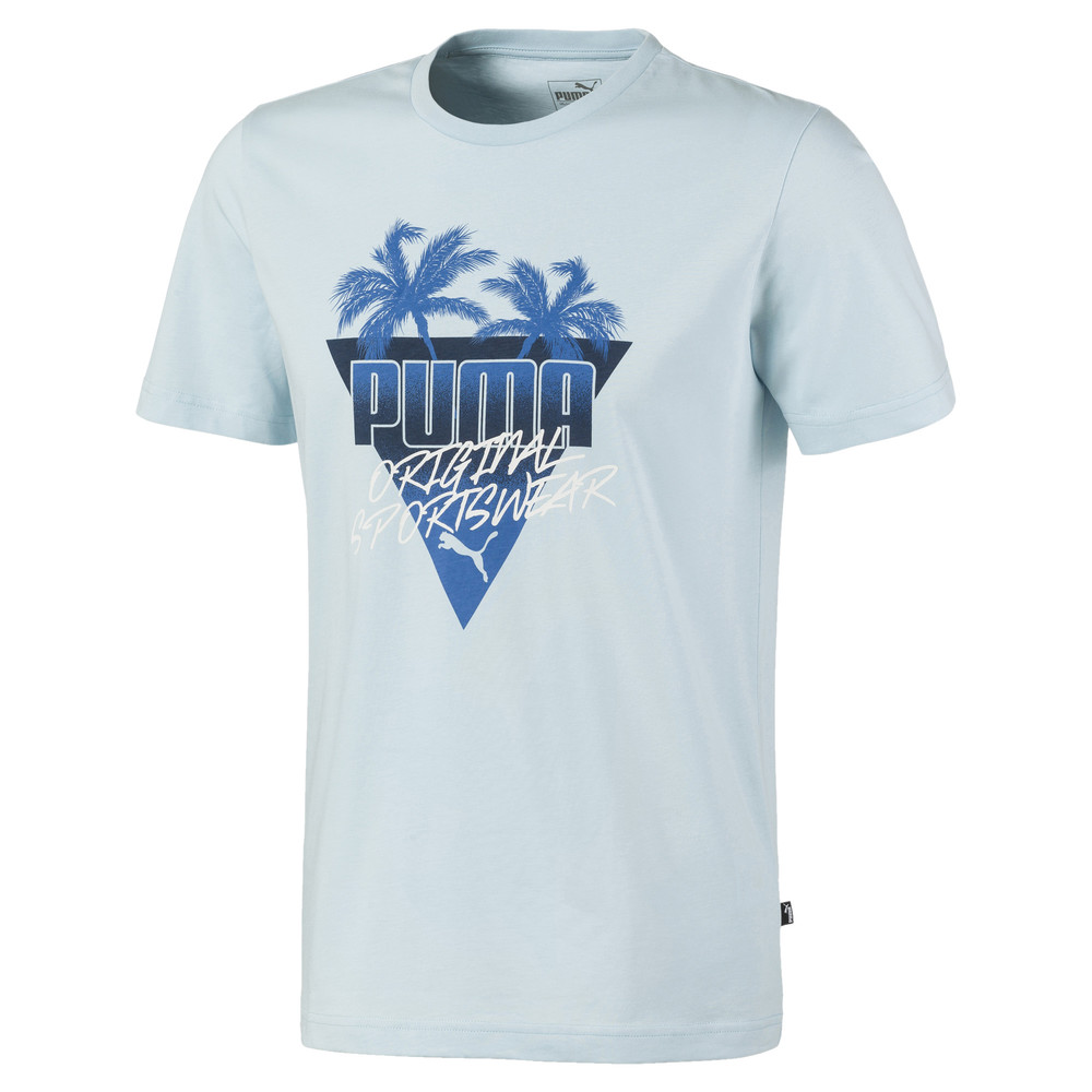 Image PUMA Summer Palms Graphic Men's Tee #1