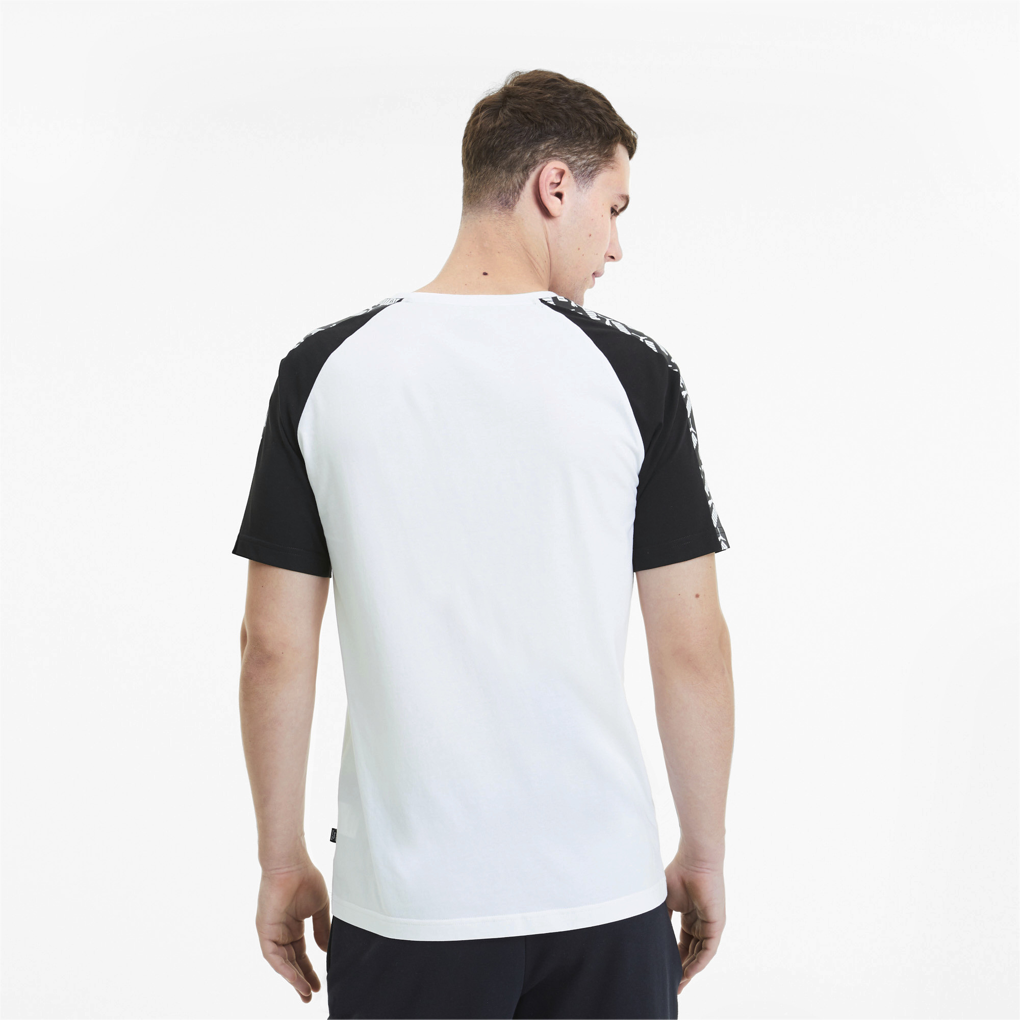 PUMA-Amplified-Men-039-s-Raglan-Tee-Men-Tee-Basics thumbnail 5