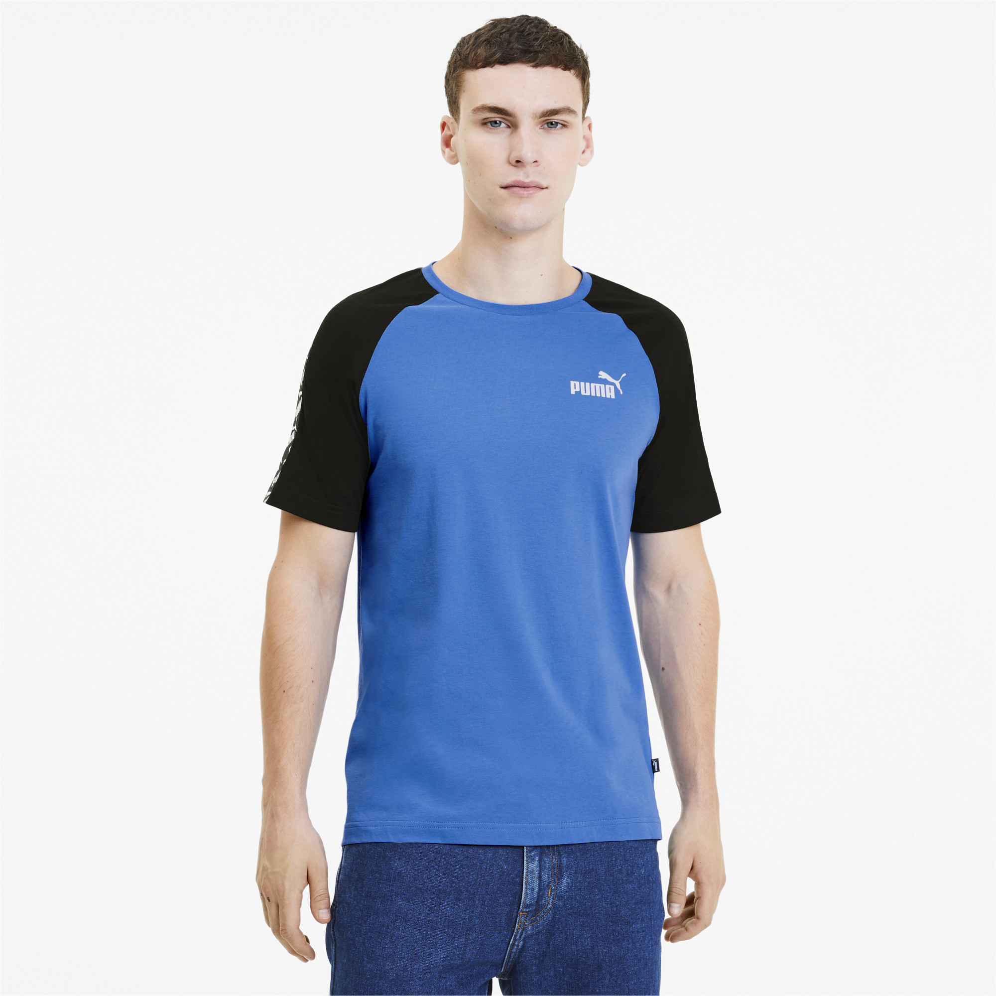 PUMA-Amplified-Men-039-s-Raglan-Tee-Men-Tee-Basics thumbnail 20