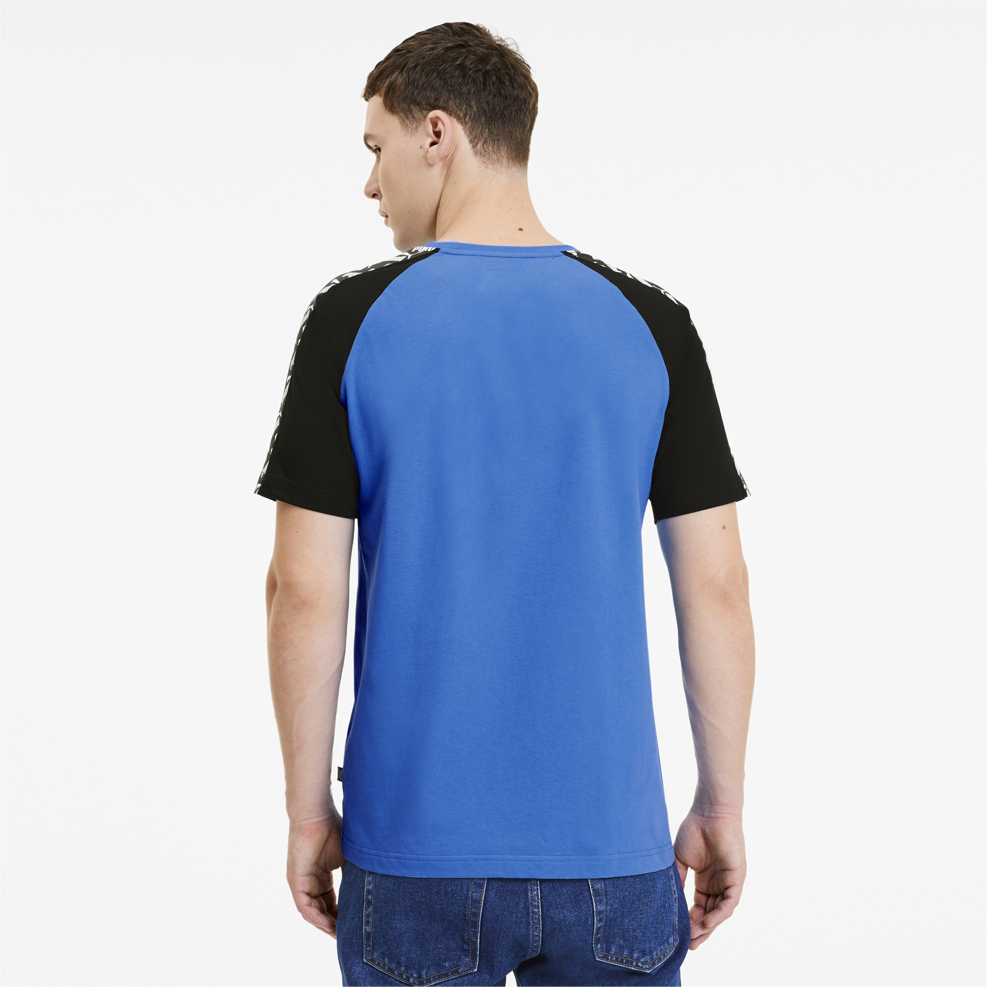PUMA-Amplified-Men-039-s-Raglan-Tee-Men-Tee-Basics thumbnail 21