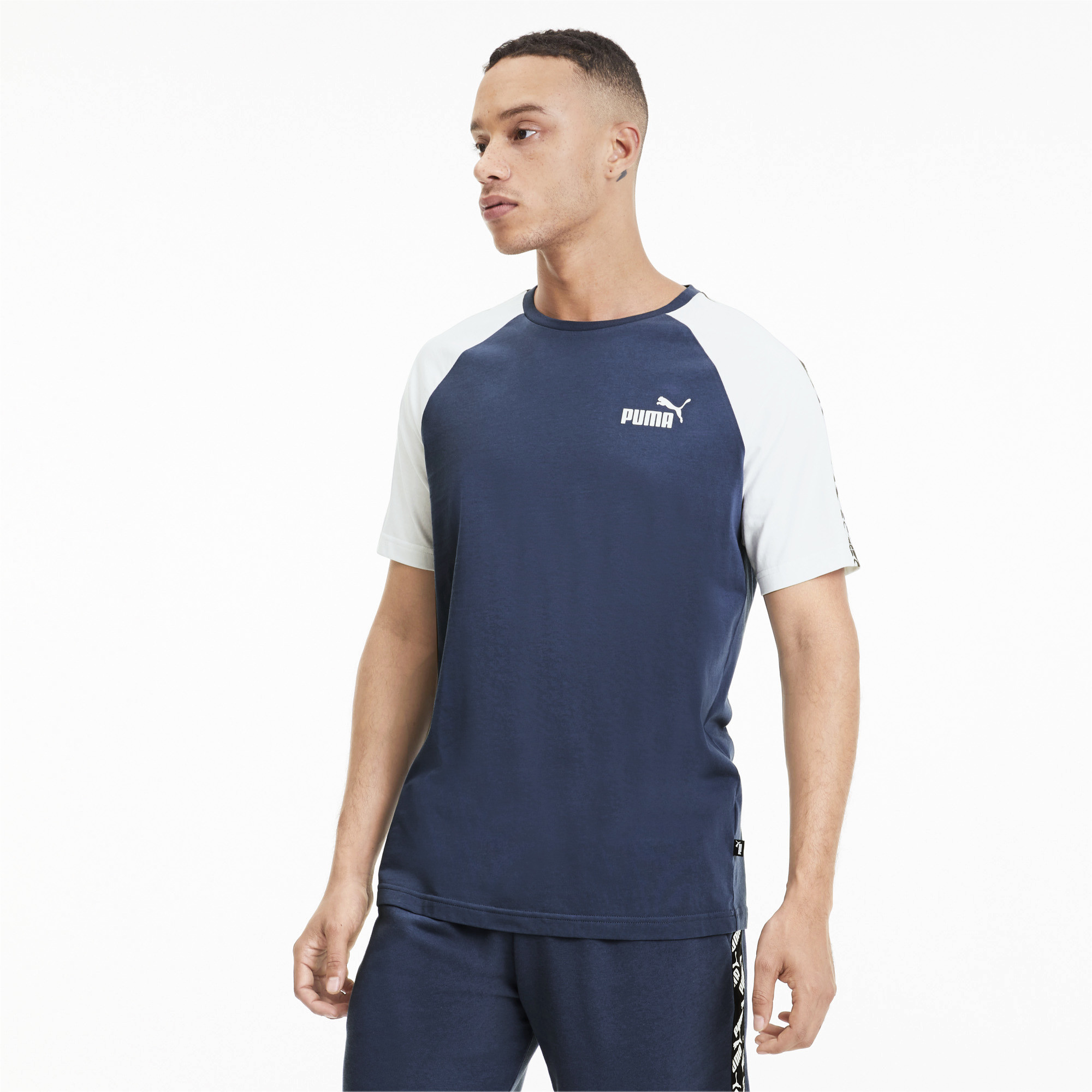 PUMA-Amplified-Men-039-s-Raglan-Tee-Men-Tee-Basics thumbnail 16