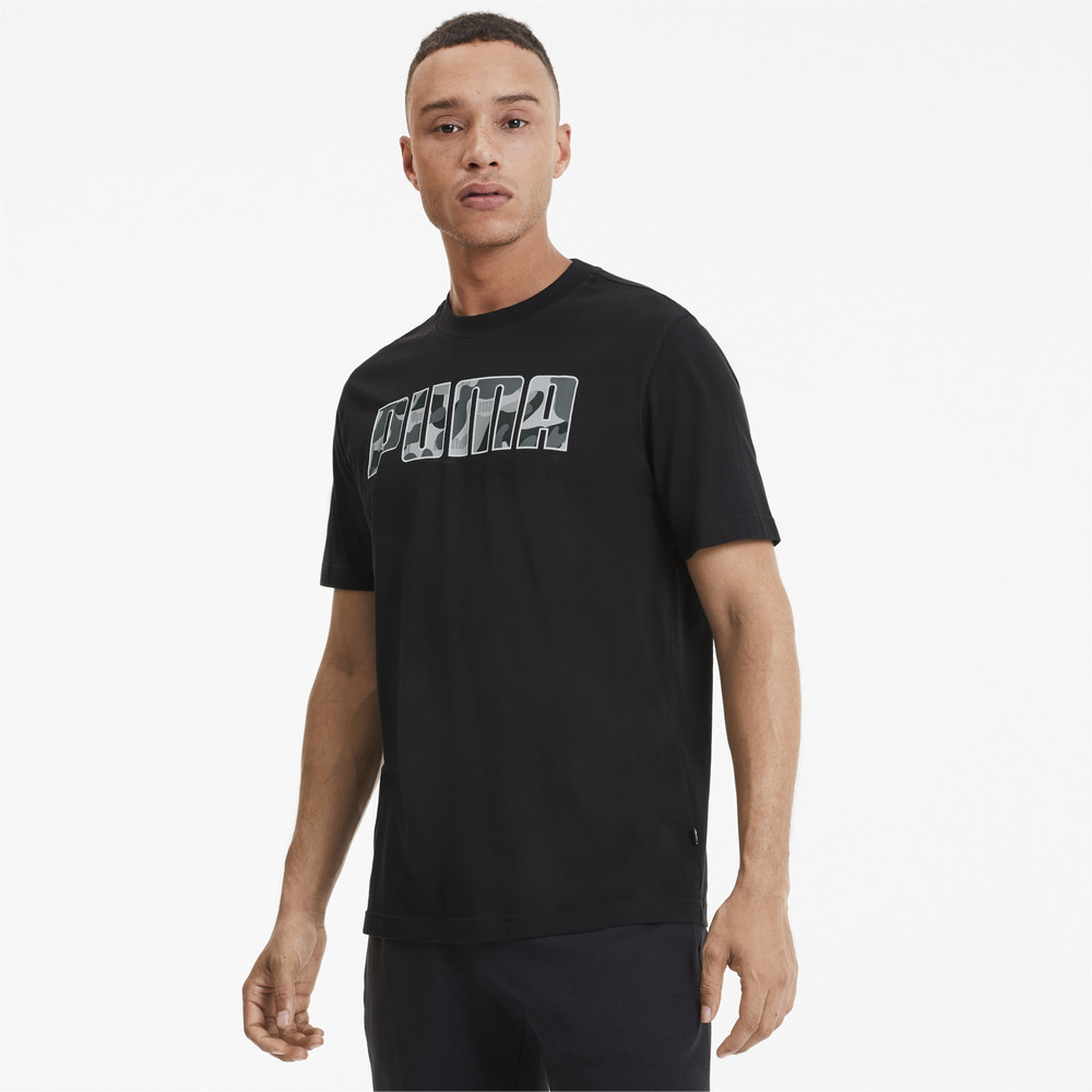 Image PUMA Rebel Camo Fill Men's Tee #1