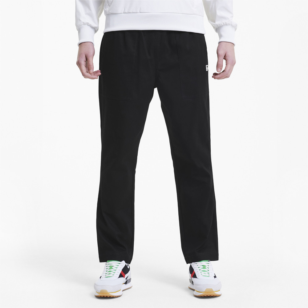 Image PUMA Downtown Twill Woven Men's Pants #1