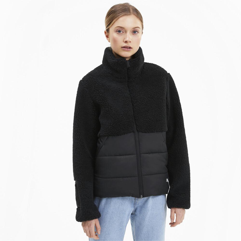 Image PUMA Sherpa Hybrid Women's Jacket #1