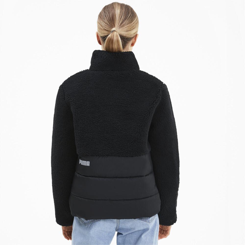 Image PUMA Sherpa Hybrid Women's Jacket #2