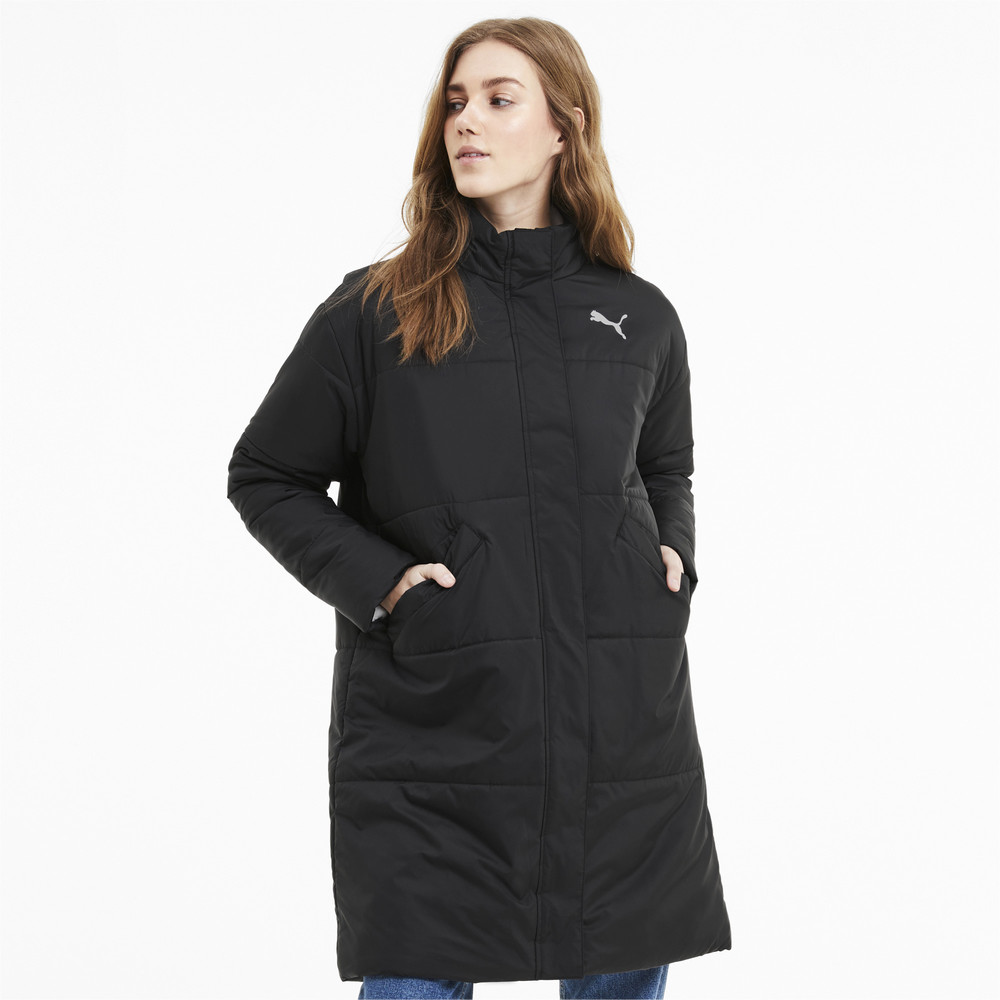 Изображение Puma Куртка ESS+ Long Padded Coat #1