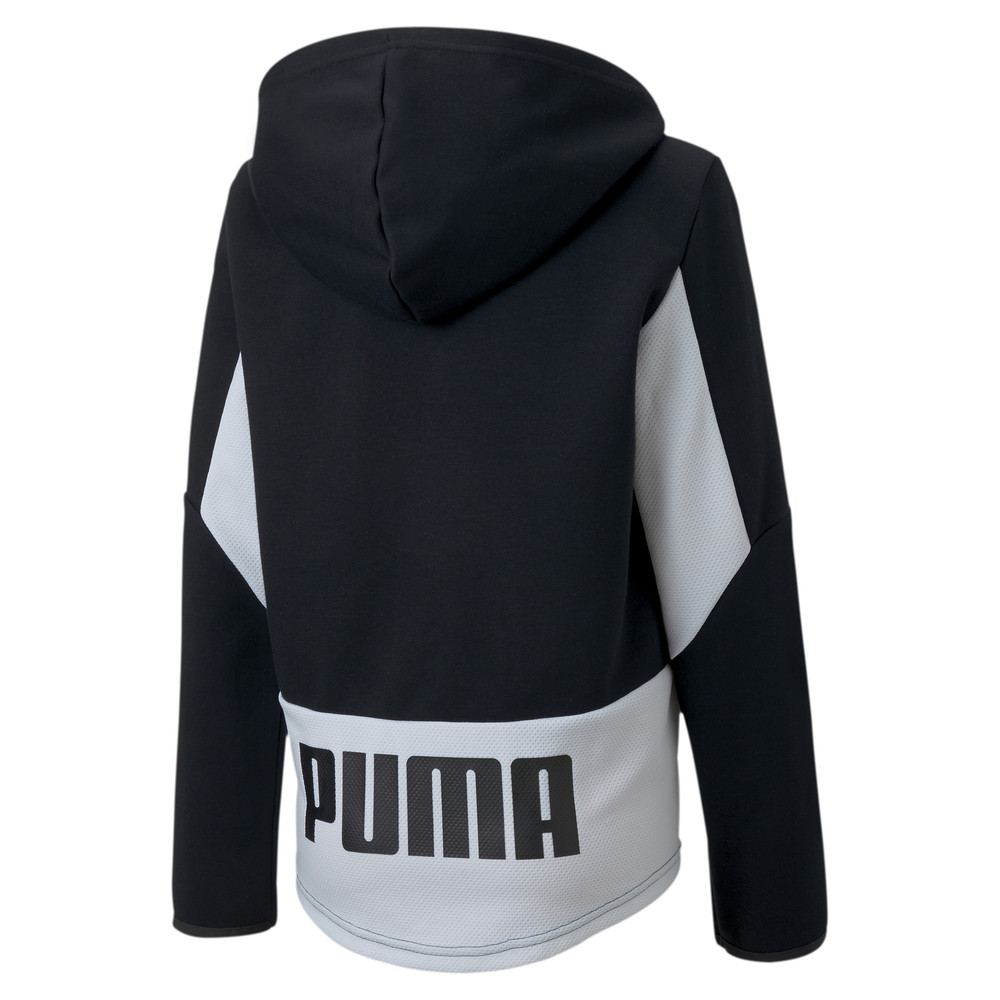 Image PUMA Active Sports Boys' Hooded Jacket #2