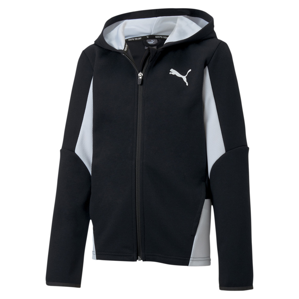 Image PUMA Active Sports Boys' Hooded Jacket #1