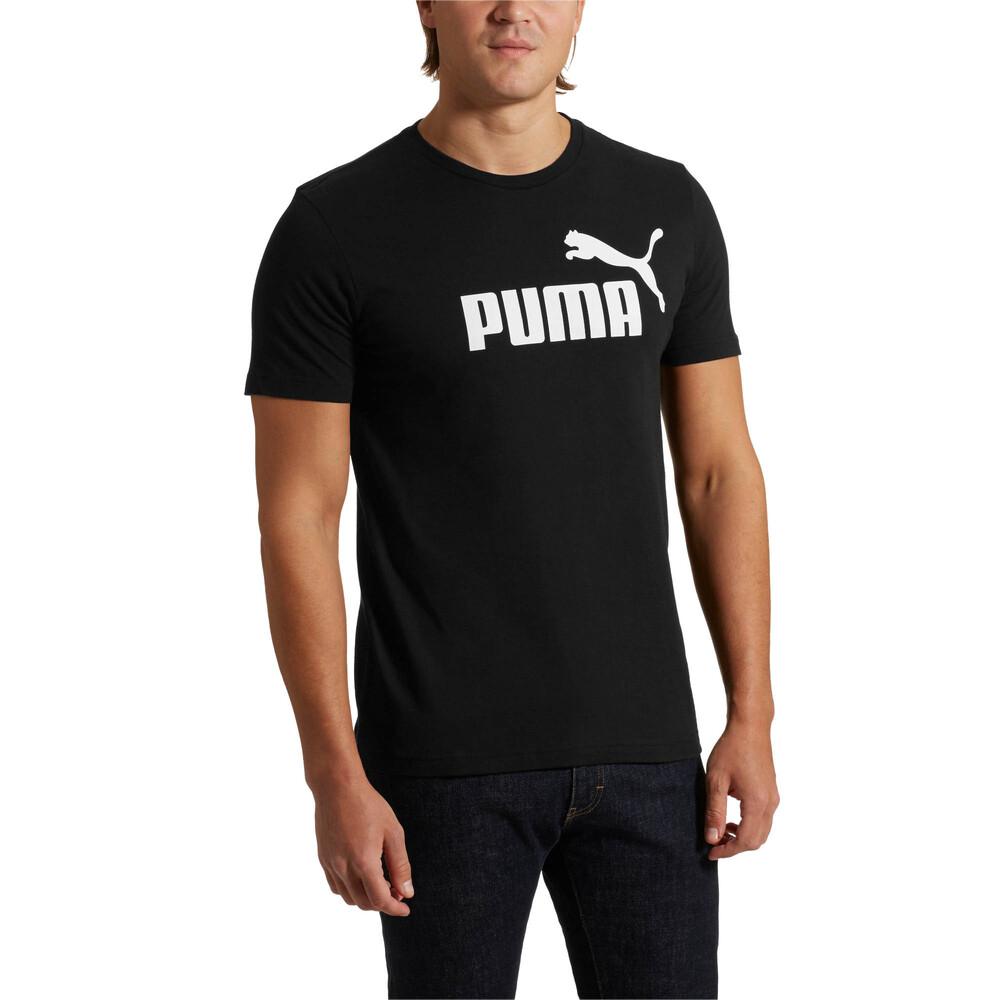 Görüntü Puma ESSENTIAL Logo Erkek T-Shirt #1