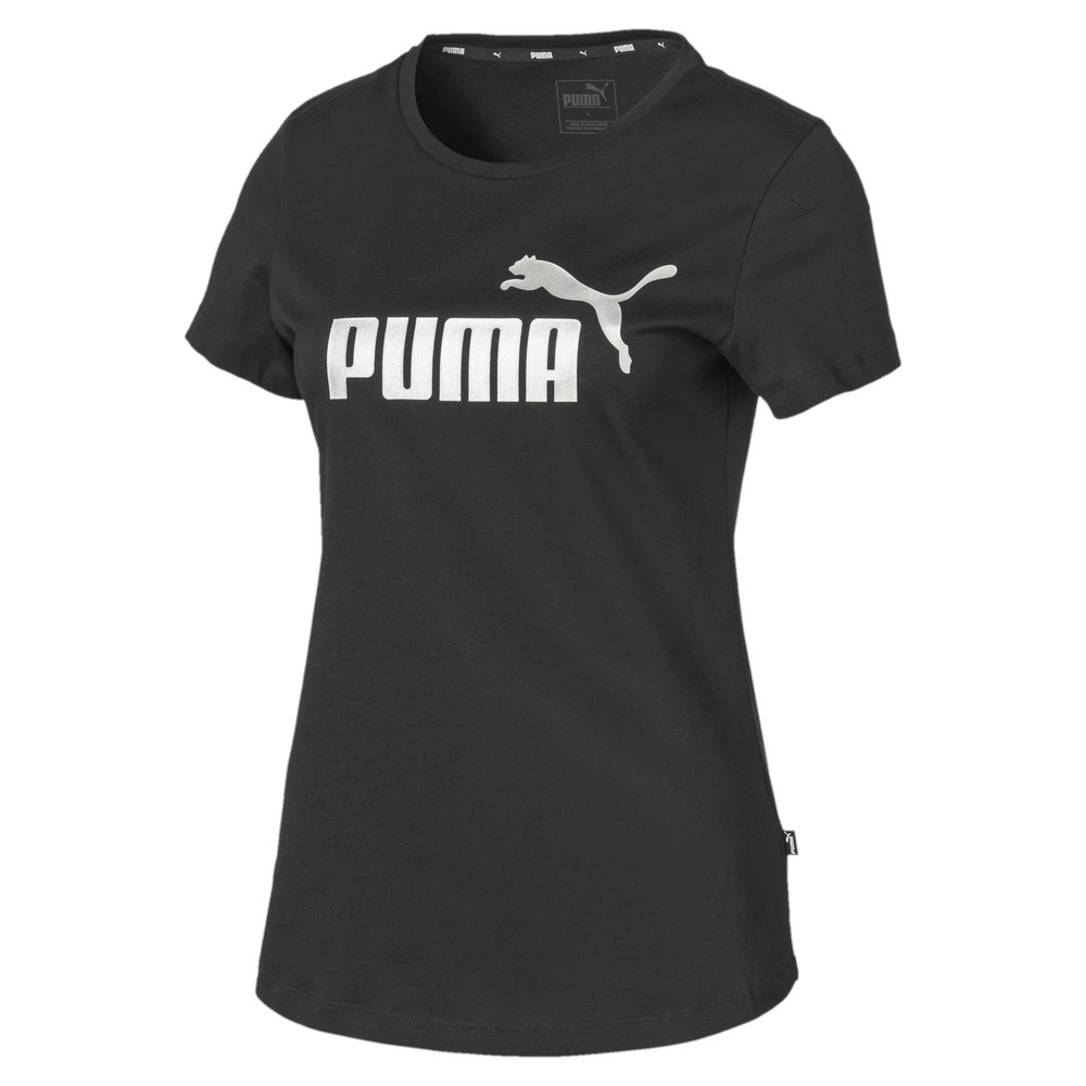 Image Puma Essentials+ Metallic Women's Tee #1